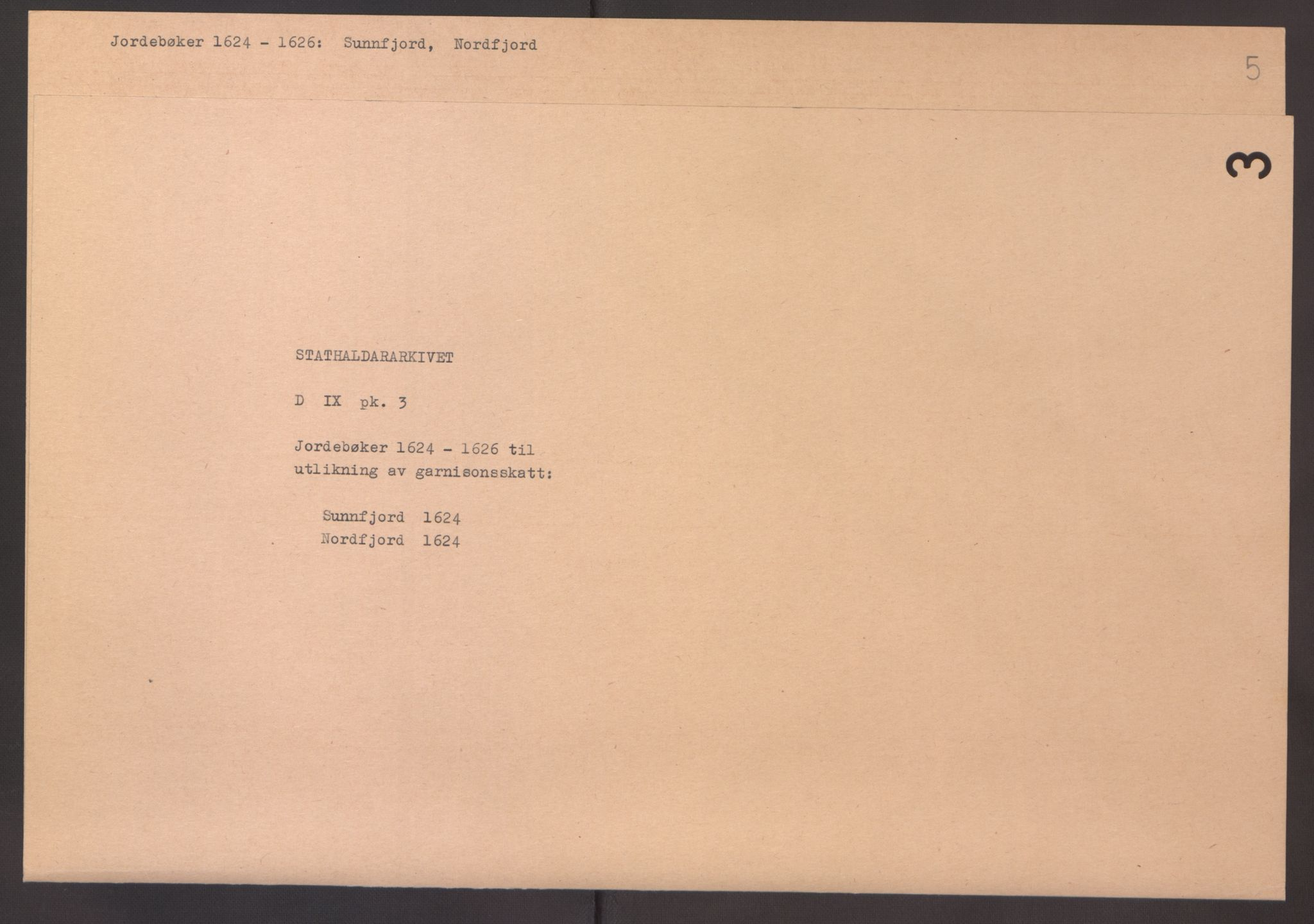 RA, Stattholderembetet 1572-1771, Ek/L0003: Jordebøker til utlikning av garnisonsskatt 1624-1626:, 1624-1625, s. 236