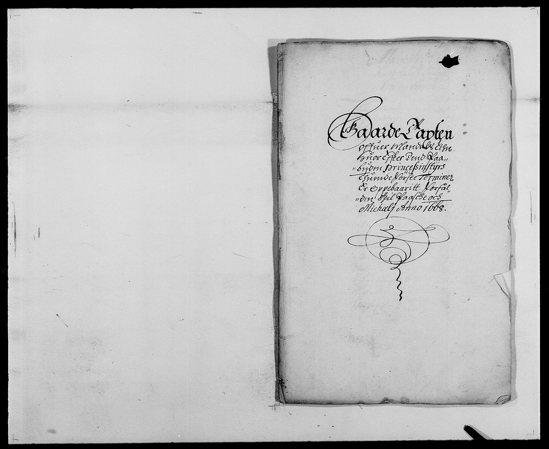 RA, Rentekammeret inntil 1814, Reviderte regnskaper, Fogderegnskap, R42/L2538: Mandal fogderi, 1667-1670, s. 126