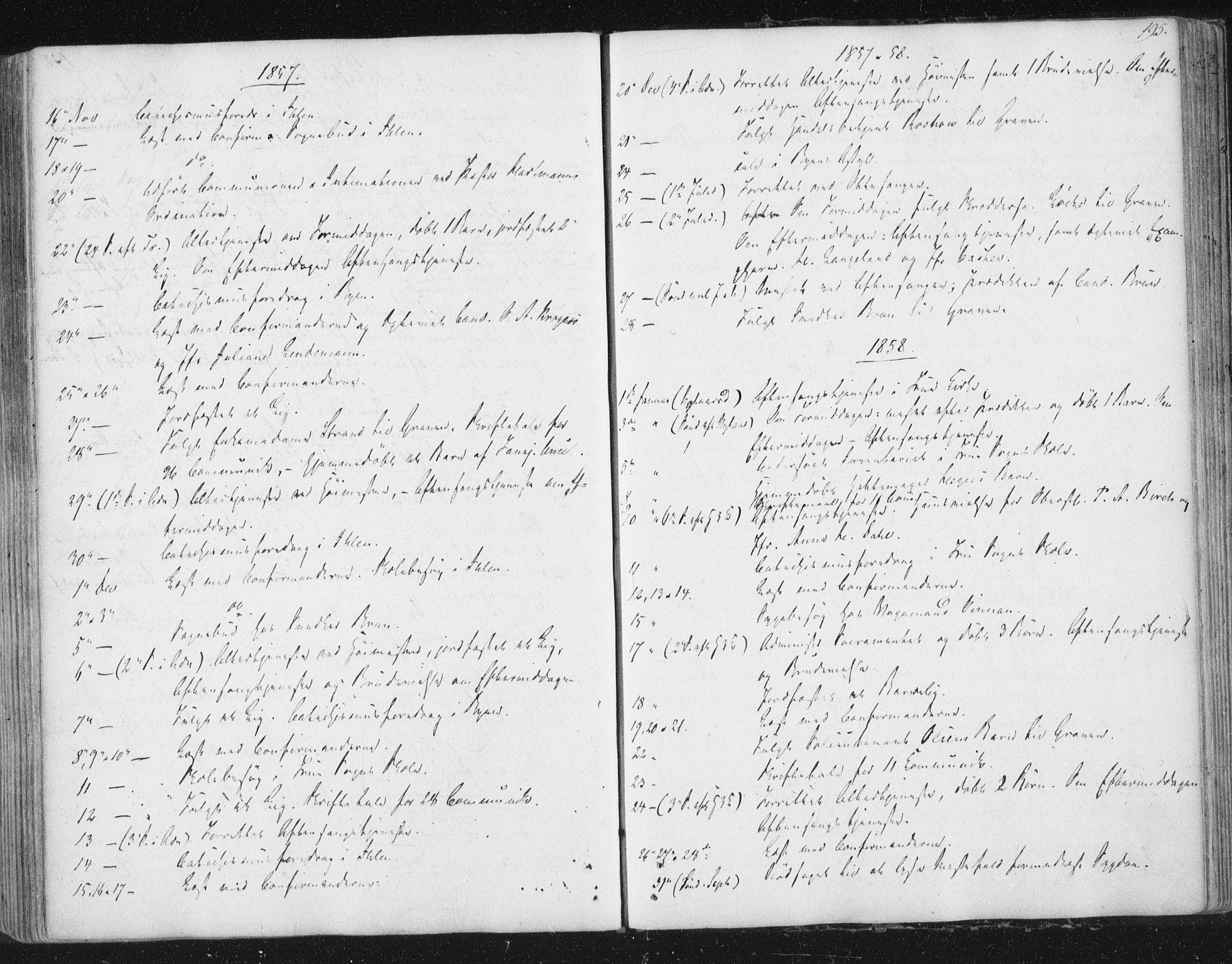 SAT, Ministerialprotokoller, klokkerbøker og fødselsregistre - Sør-Trøndelag, 602/L0127: Residerende kapellans bok nr. 602B01, 1821-1875, s. 195