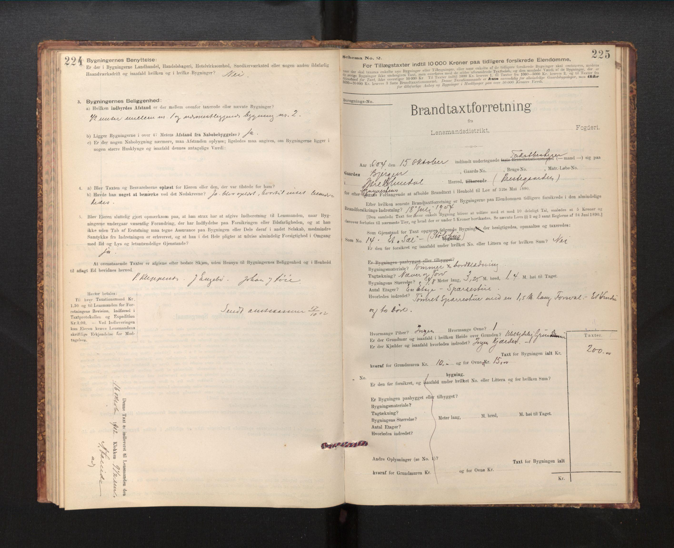 SAB, Lensmannen i Fjaler, 0012, 1895-1937, s. 224-225