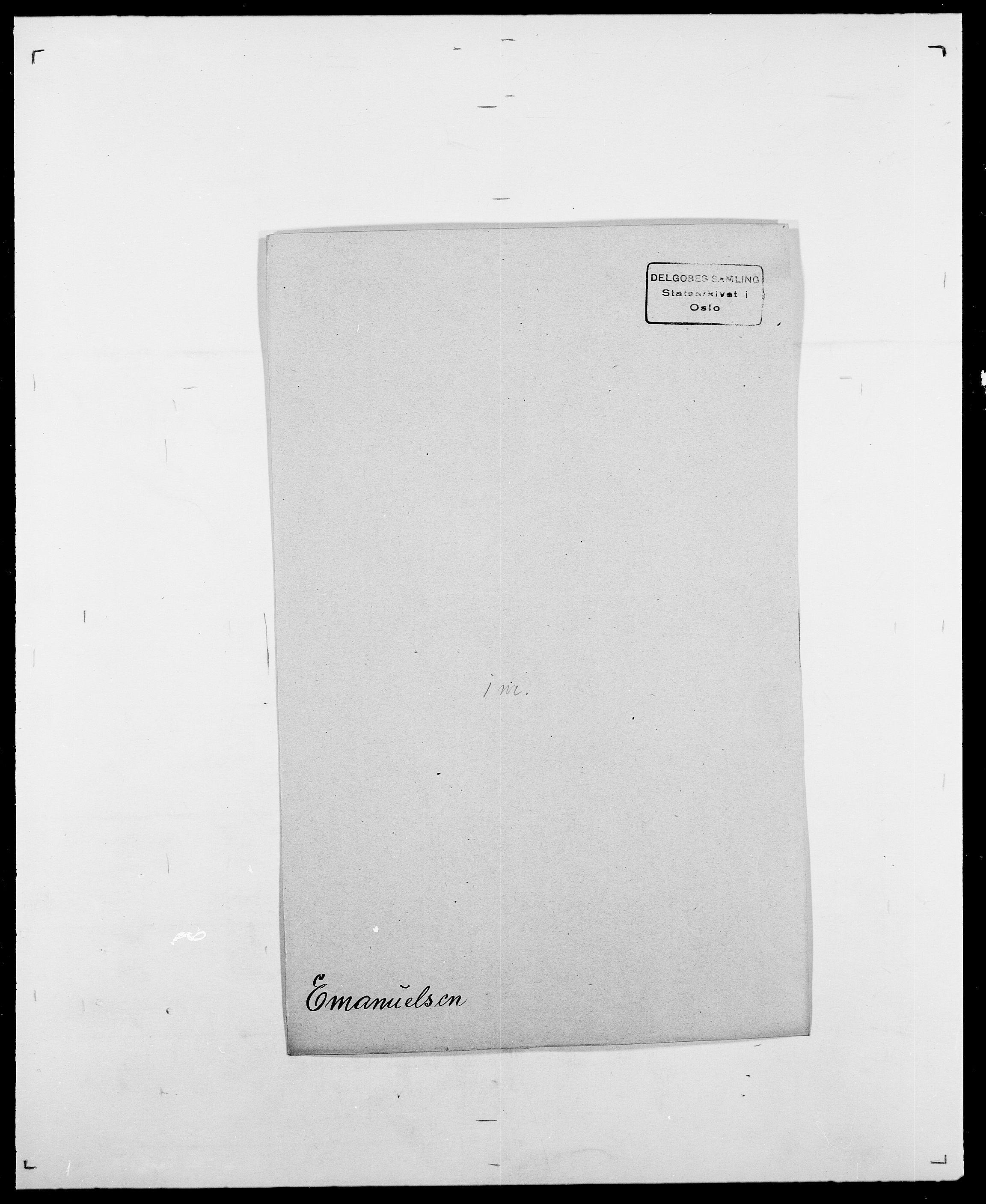 SAO, Delgobe, Charles Antoine - samling, D/Da/L0010: Dürendahl - Fagelund, s. 461