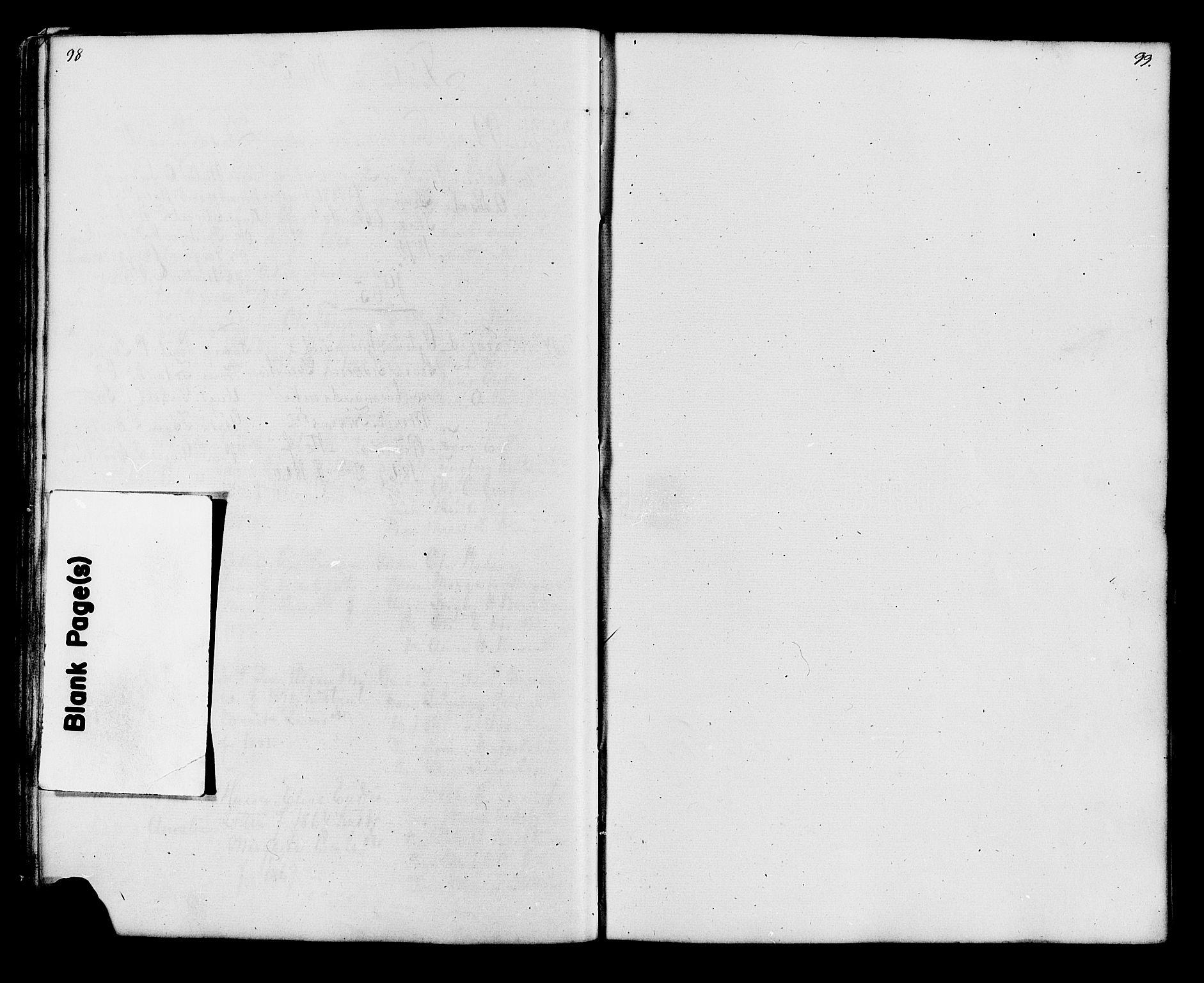 SAH, Lesja prestekontor, Klokkerbok nr. 6, 1871-1904, s. 98-99