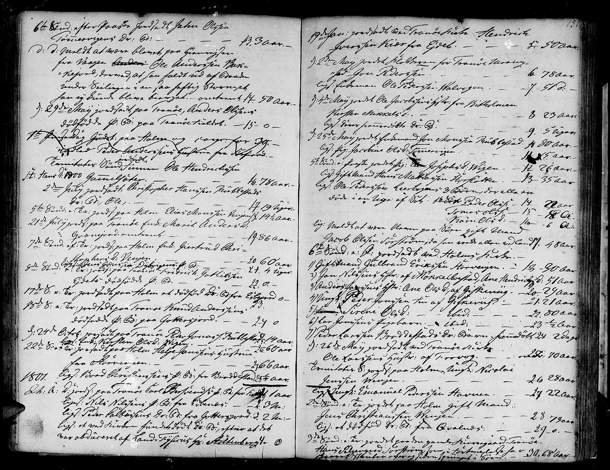 SATØ, Tranøy sokneprestkontor, I/Ia/Iaa/L0002kirke: Ministerialbok nr. 2, 1773-1806, s. 151