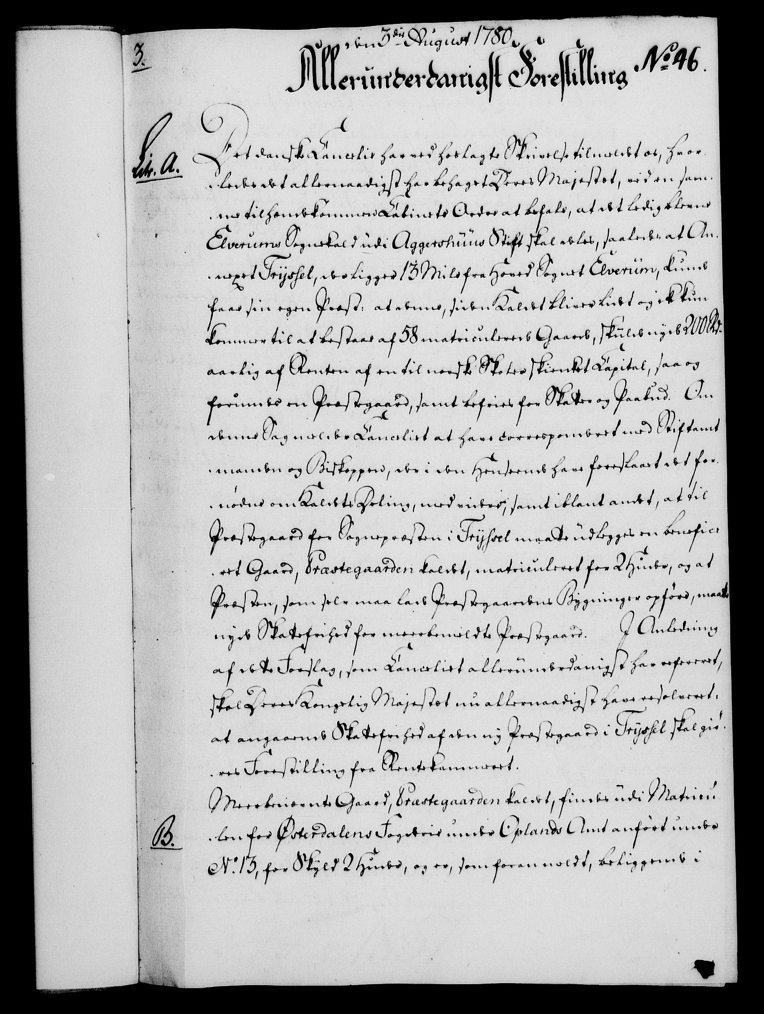 RA, Rentekammeret, Kammerkanselliet, G/Gf/Gfa/L0062: Norsk relasjons- og resolusjonsprotokoll (merket RK 52.62), 1780, s. 413