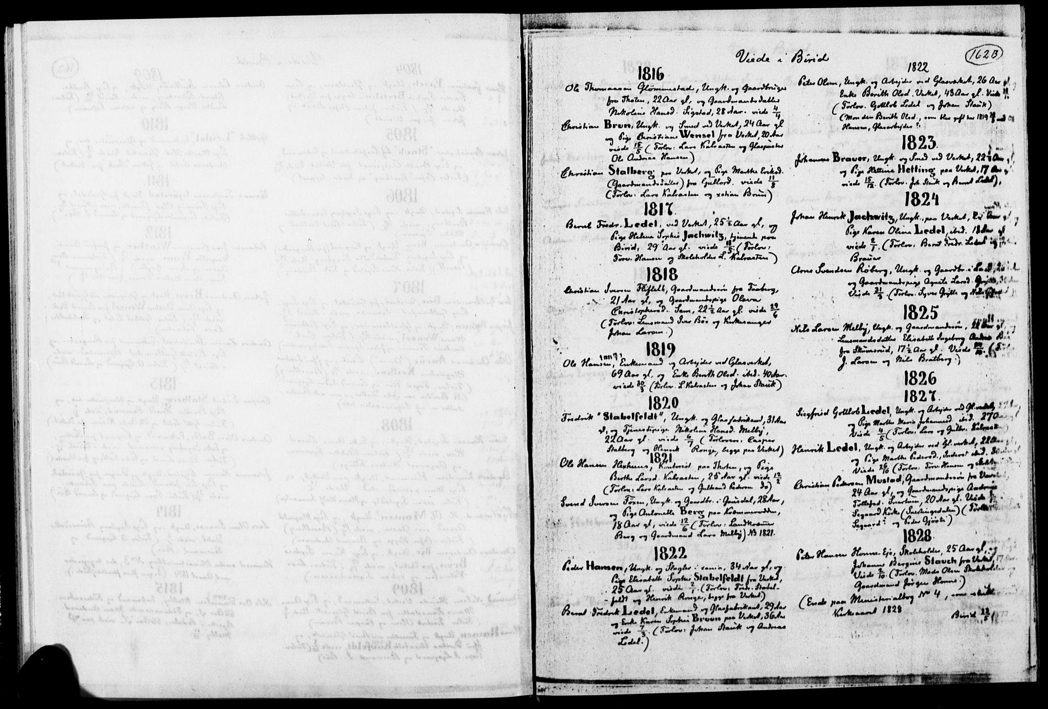 SAH, Biri prestekontor, Ministerialbok, 1730-1879, s. 162b