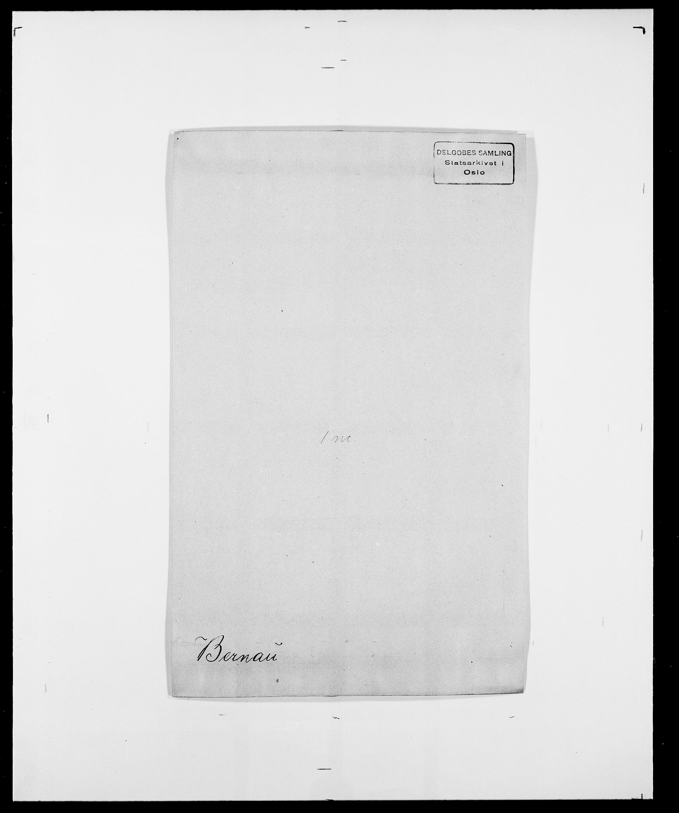 SAO, Delgobe, Charles Antoine - samling, D/Da/L0004: Bergendahl - Blære, s. 68