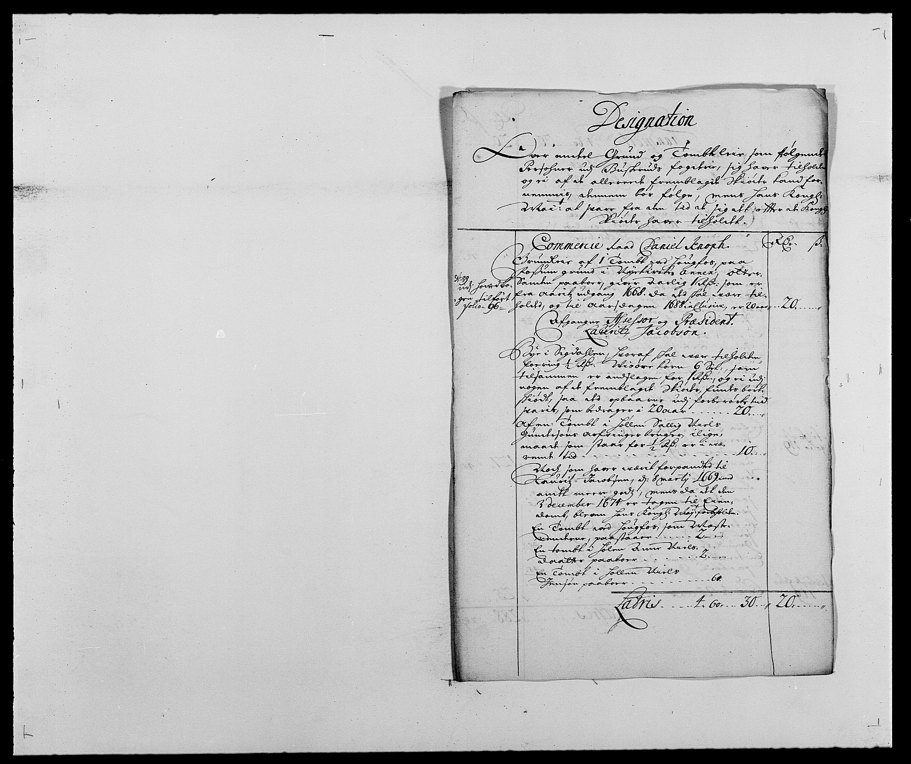 RA, Rentekammeret inntil 1814, Reviderte regnskaper, Fogderegnskap, R25/L1679: Fogderegnskap Buskerud, 1687-1688, s. 41