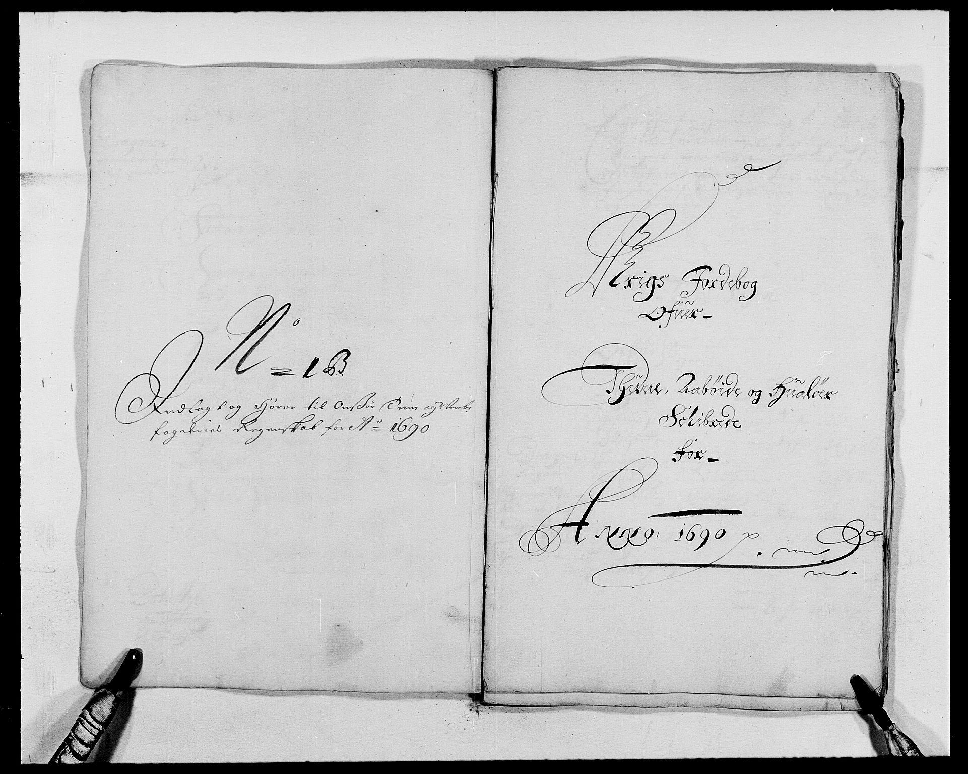 RA, Rentekammeret inntil 1814, Reviderte regnskaper, Fogderegnskap, R03/L0119: Fogderegnskap Onsøy, Tune, Veme og Åbygge fogderi, 1690-1691, s. 171