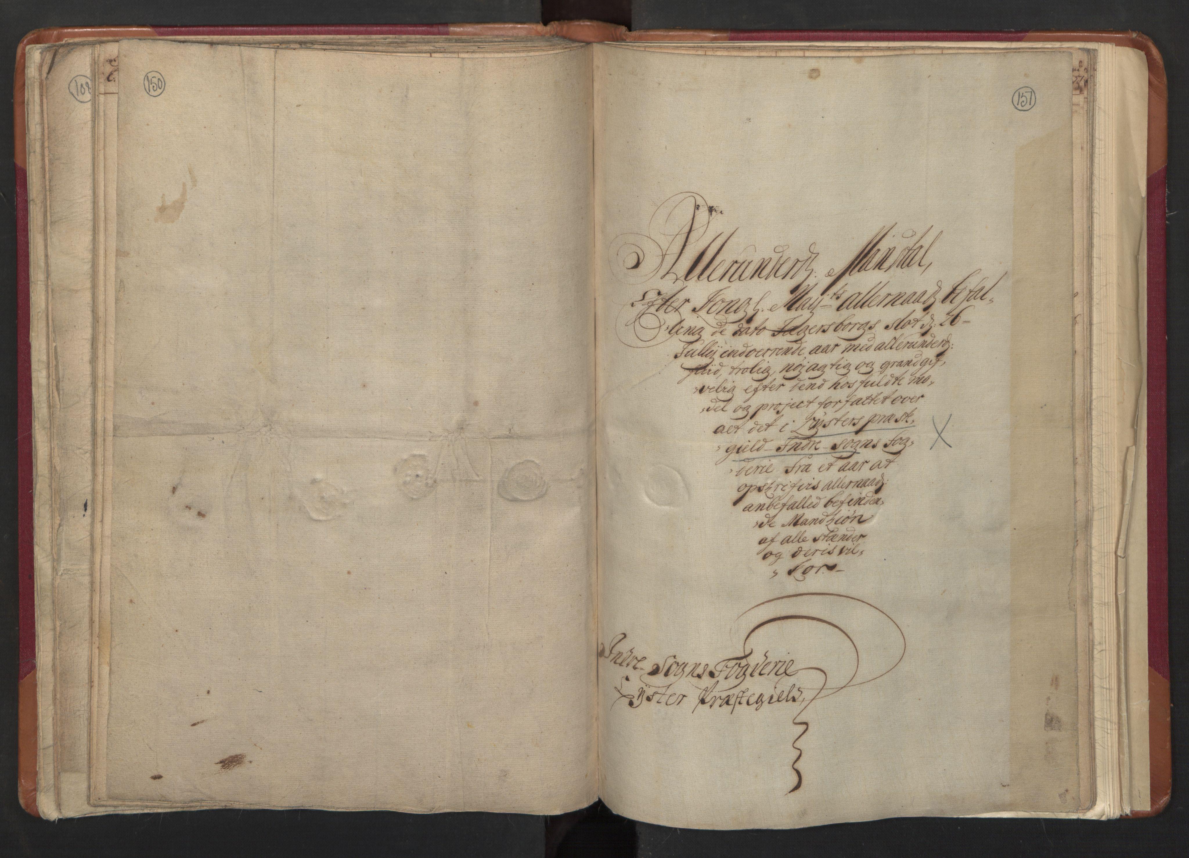 RA, Manntallet 1701, nr. 8: Ytre Sogn fogderi og Indre Sogn fogderi, 1701, s. 150-151