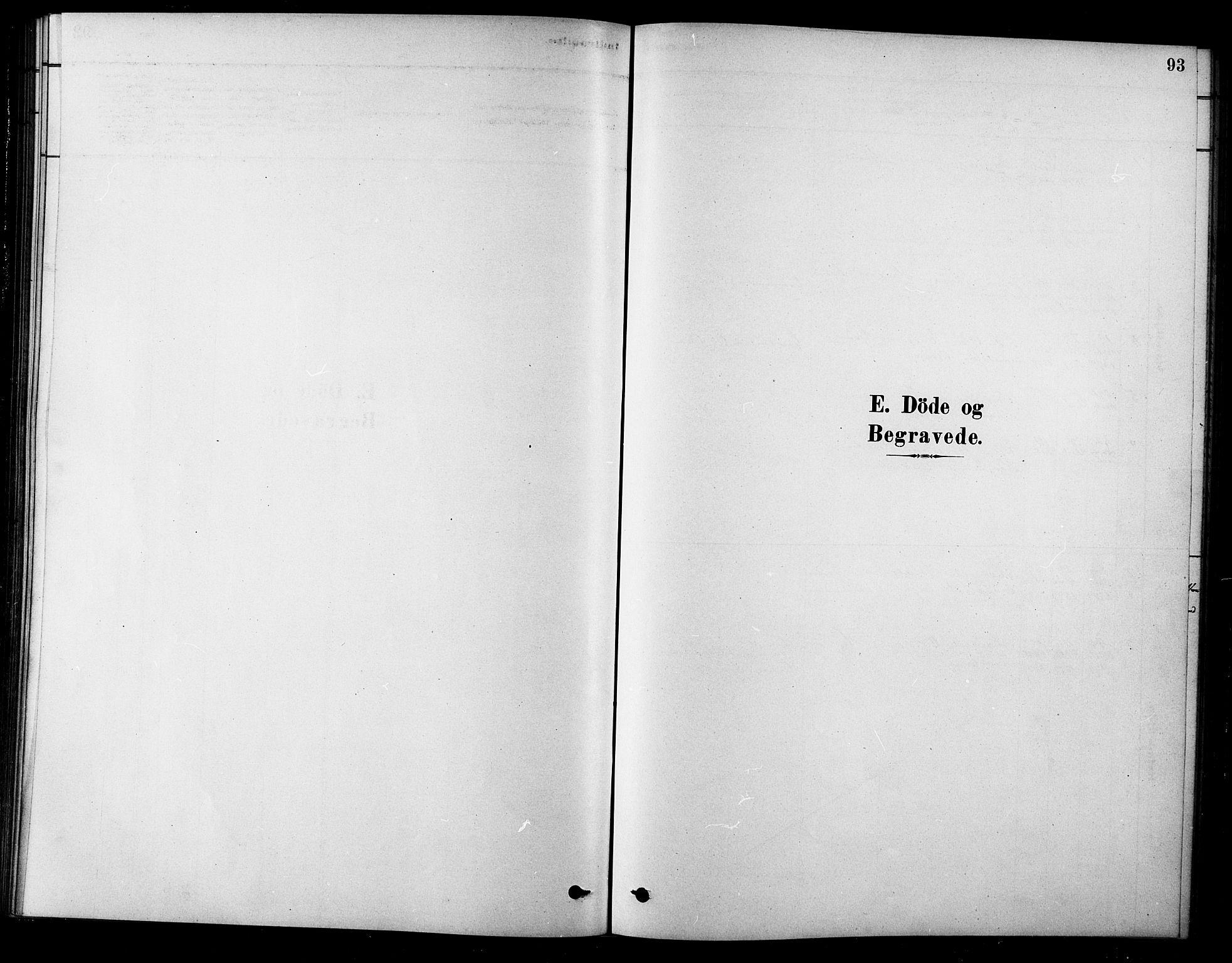 SAT, Ministerialprotokoller, klokkerbøker og fødselsregistre - Sør-Trøndelag, 685/L0972: Ministerialbok nr. 685A09, 1879-1890, s. 93