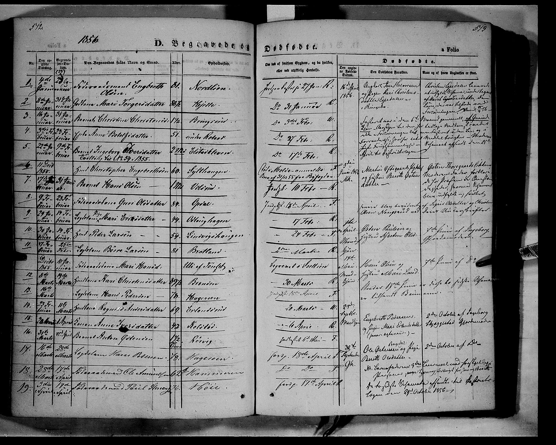 SAH, Ringebu prestekontor, Ministerialbok nr. 6, 1848-1859, s. 512-513