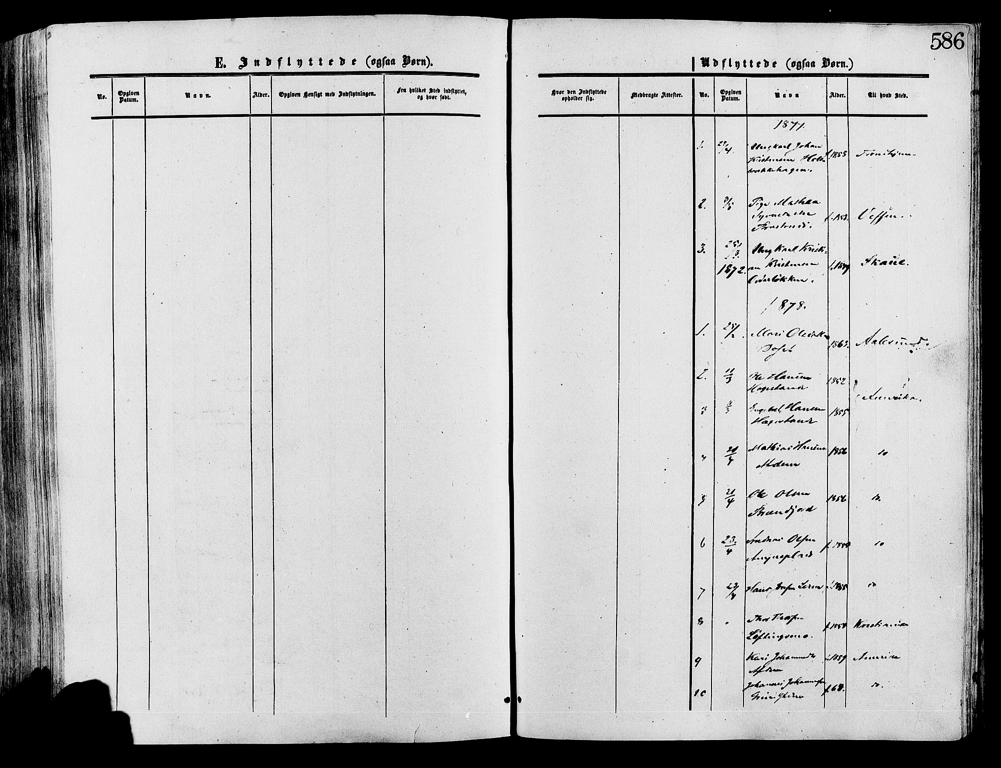 SAH, Lesja prestekontor, Ministerialbok nr. 8, 1854-1880, s. 586