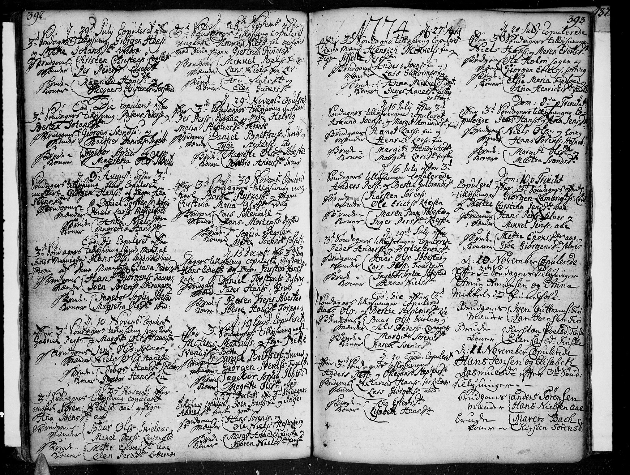 SATØ, Ibestad sokneprestembete, Ministerialbok nr. 2, 1751-1775, s. 392-393