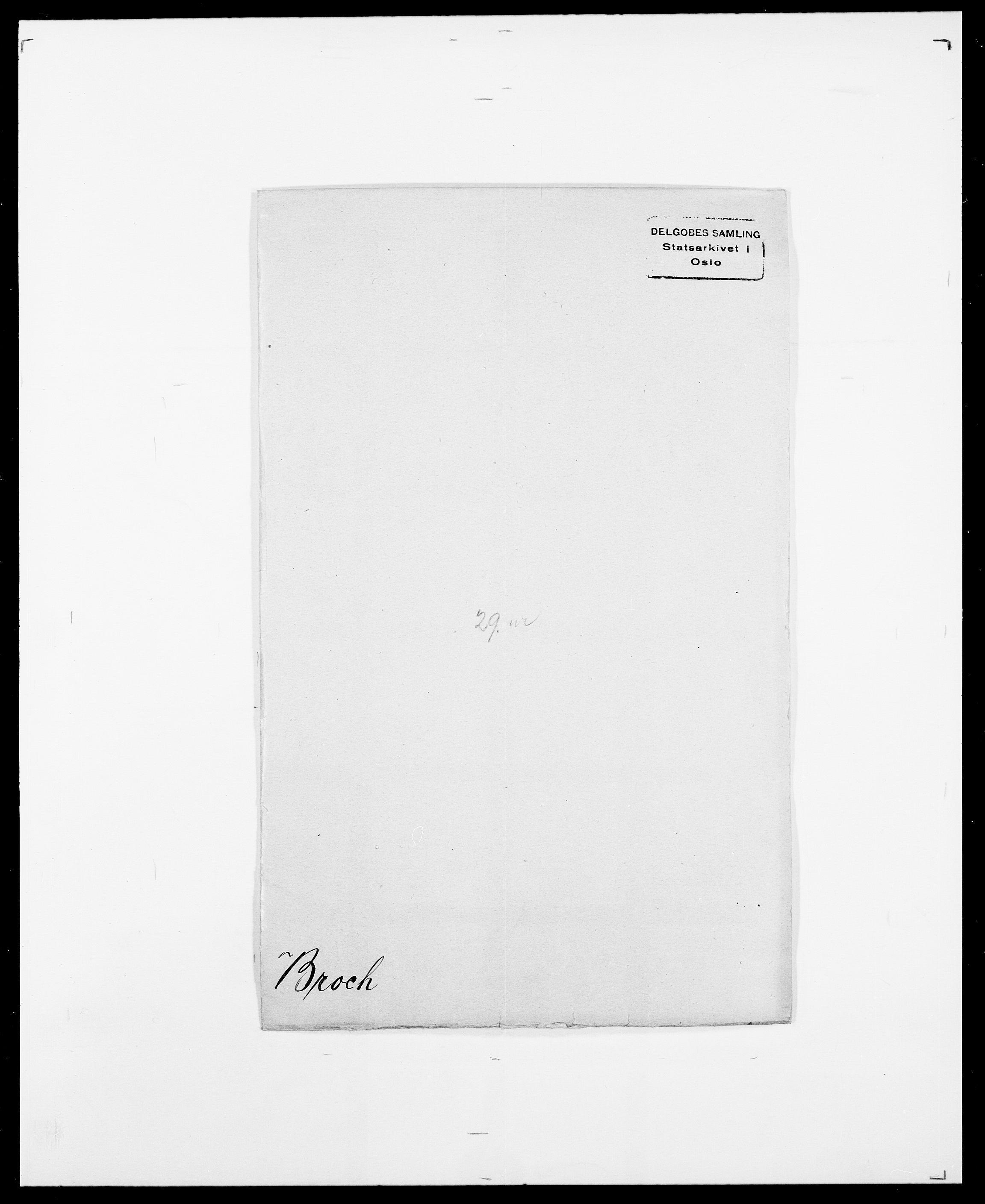 SAO, Delgobe, Charles Antoine - samling, D/Da/L0006: Brambani - Brønø, s. 417