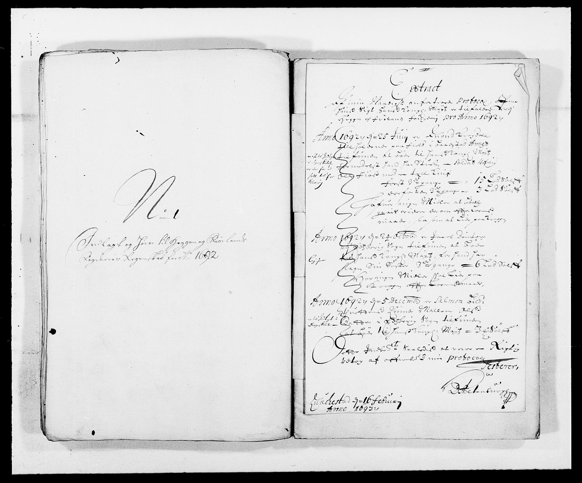 RA, Rentekammeret inntil 1814, Reviderte regnskaper, Fogderegnskap, R06/L0283: Fogderegnskap Heggen og Frøland, 1691-1693, s. 144