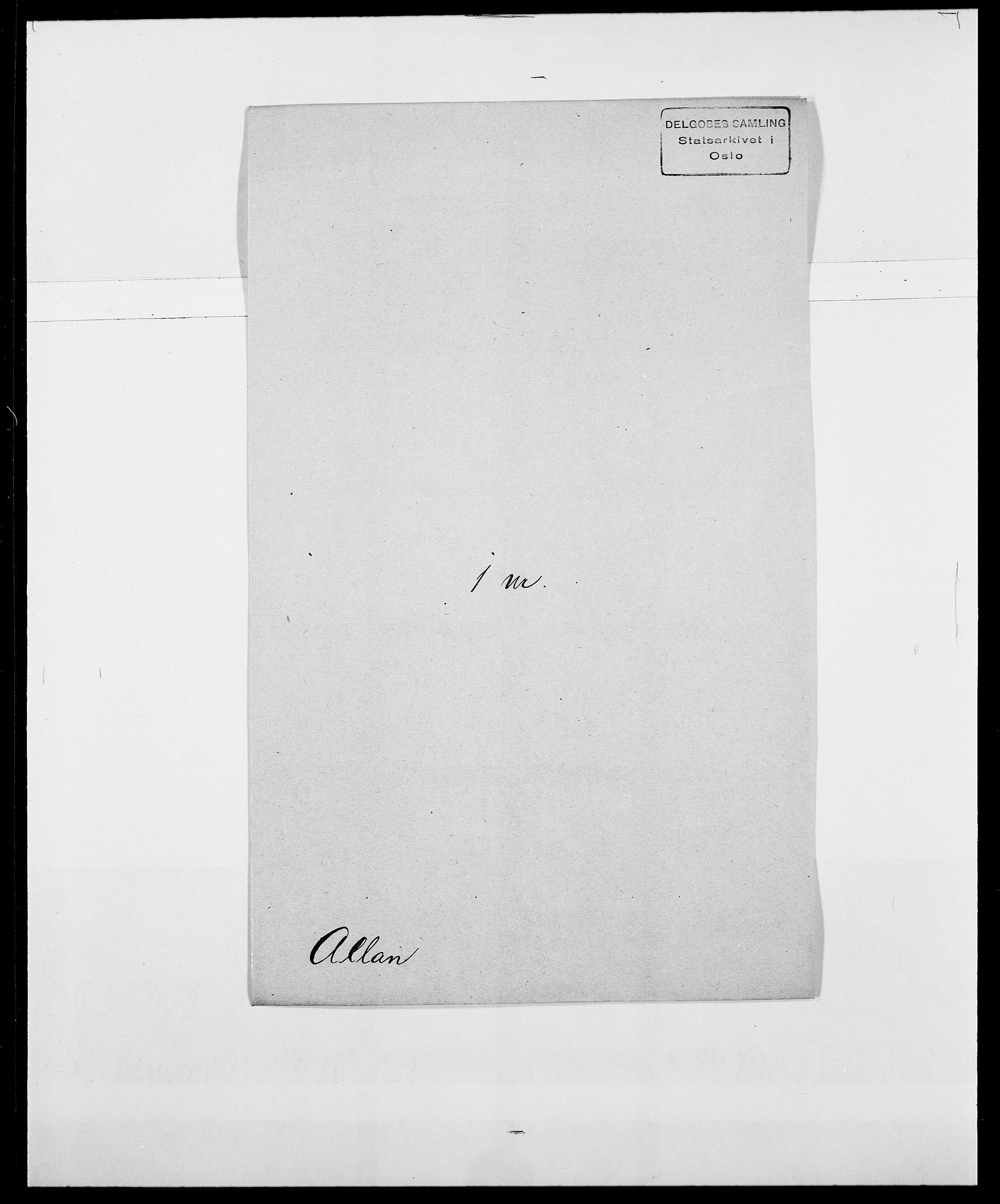 SAO, Delgobe, Charles Antoine - samling, D/Da/L0001: Aabye - Angerman, s. 412