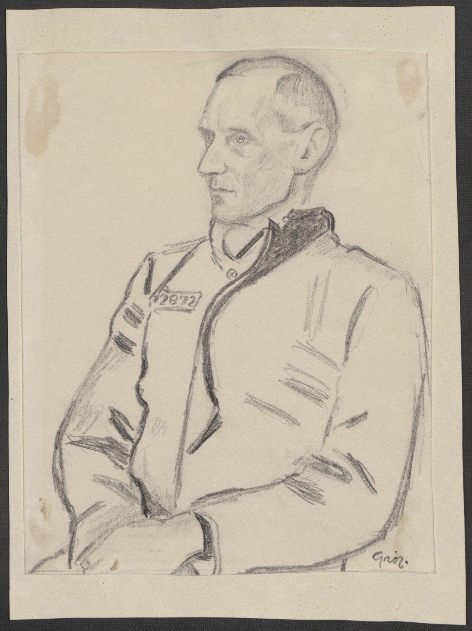 RA, Grøgaard, Joachim, F/L0002: Tegninger og tekster, 1942-1945, s. 118