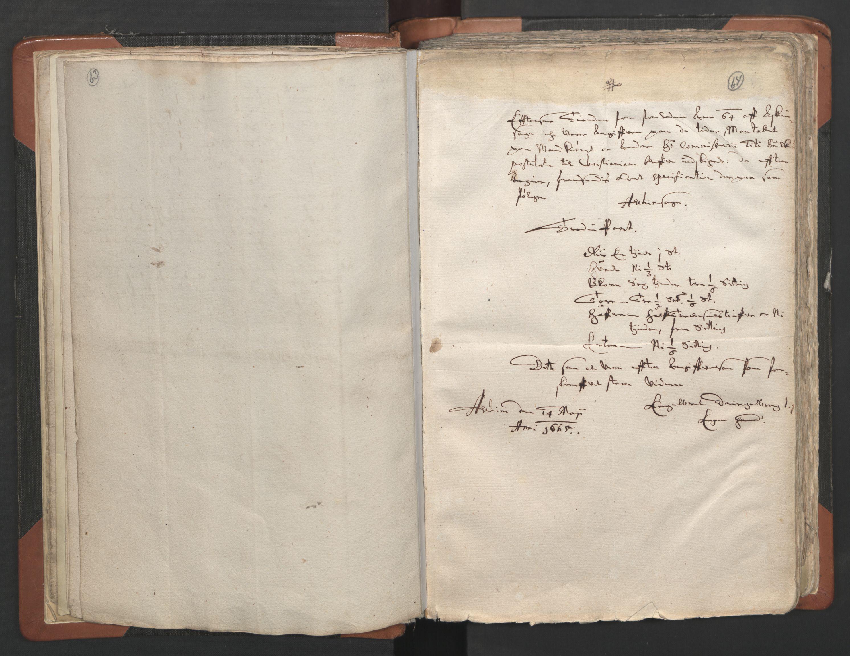 RA, Sogneprestenes manntall 1664-1666, nr. 2: Øvre Borgesyssel prosti, 1664-1666, s. 63-64