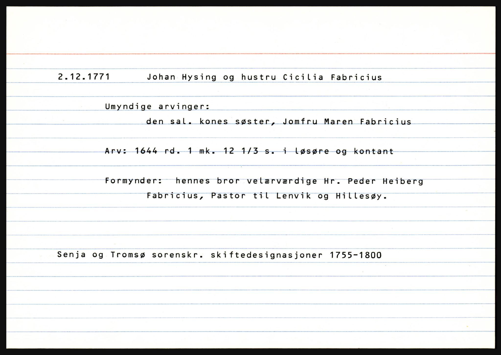 SATØ, Senja og Tromsø sorenskriveri , H, 1755-1800, s. 637