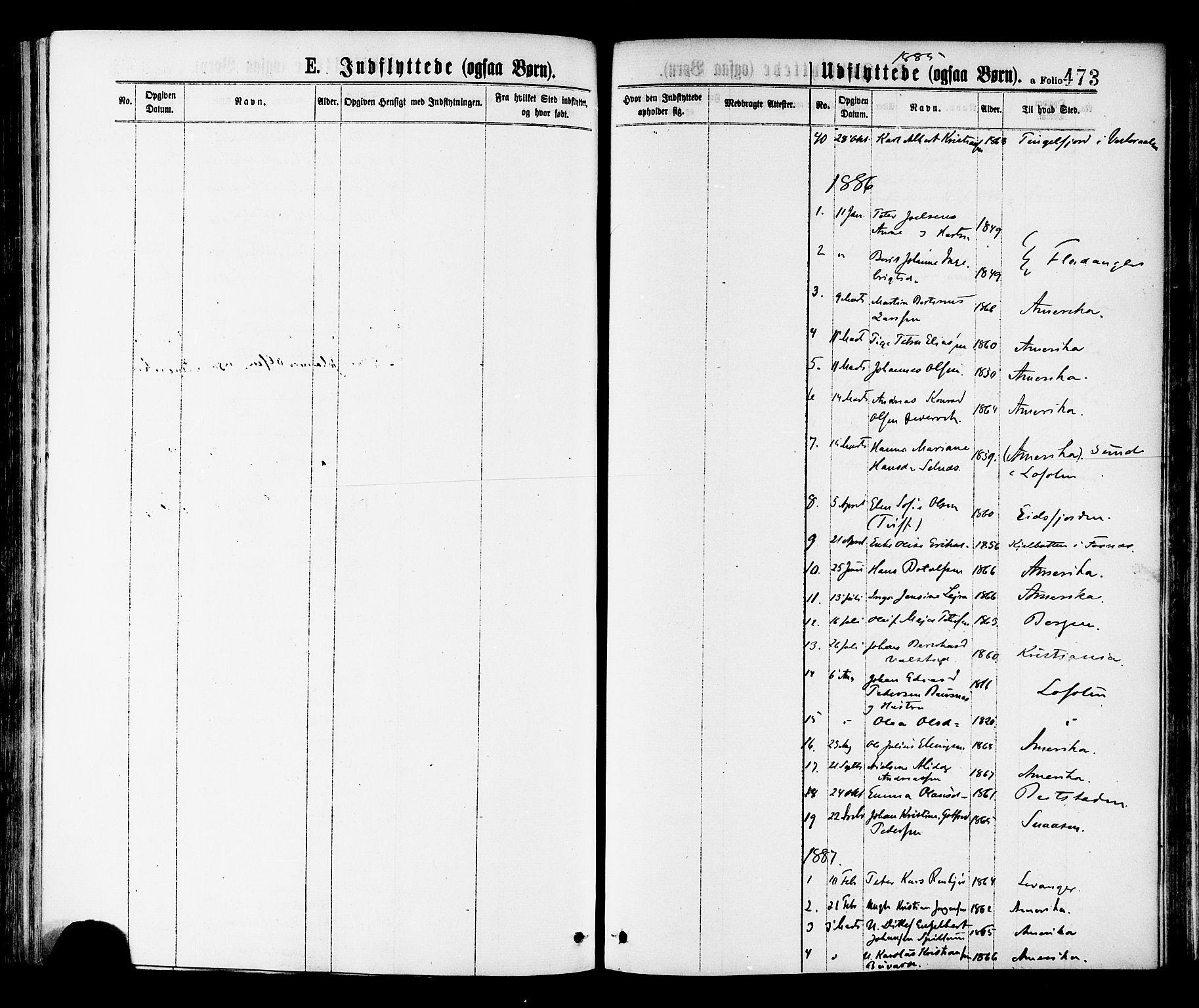 SAT, Ministerialprotokoller, klokkerbøker og fødselsregistre - Nord-Trøndelag, 768/L0572: Ministerialbok nr. 768A07, 1874-1886, s. 473