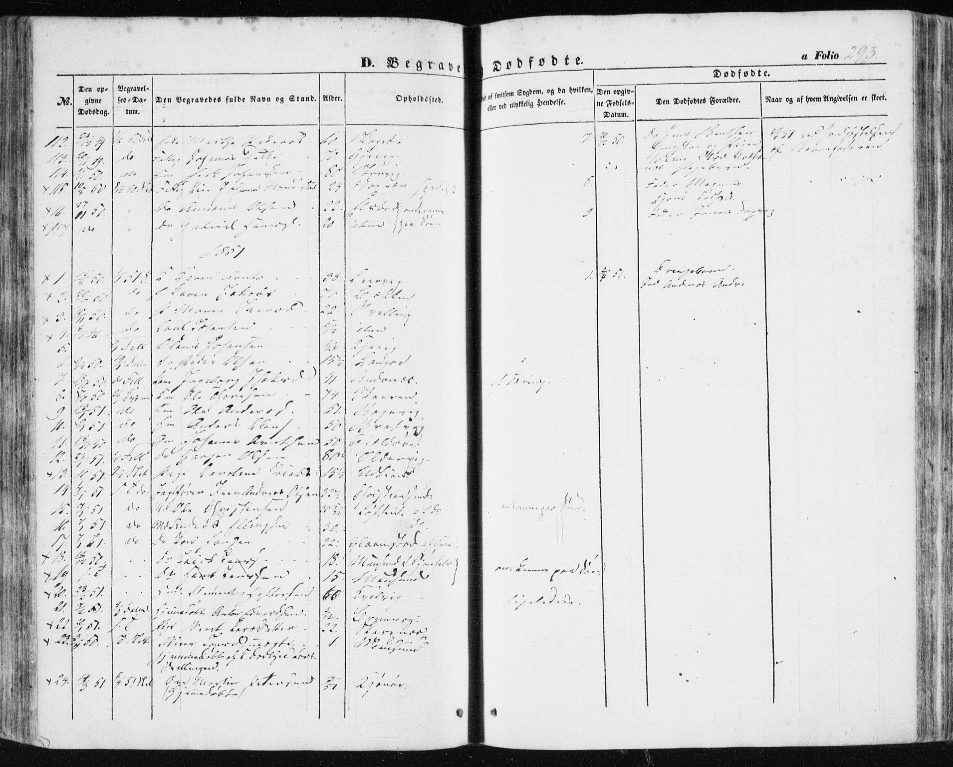 SAT, Ministerialprotokoller, klokkerbøker og fødselsregistre - Sør-Trøndelag, 634/L0529: Ministerialbok nr. 634A05, 1843-1851, s. 293