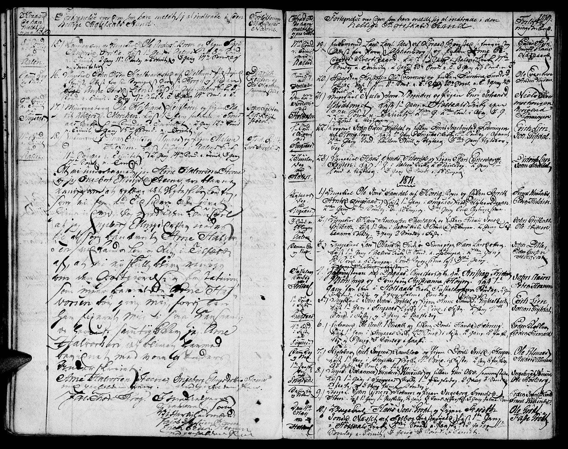 SAT, Ministerialprotokoller, klokkerbøker og fødselsregistre - Sør-Trøndelag, 685/L0953: Ministerialbok nr. 685A02, 1805-1816, s. 199