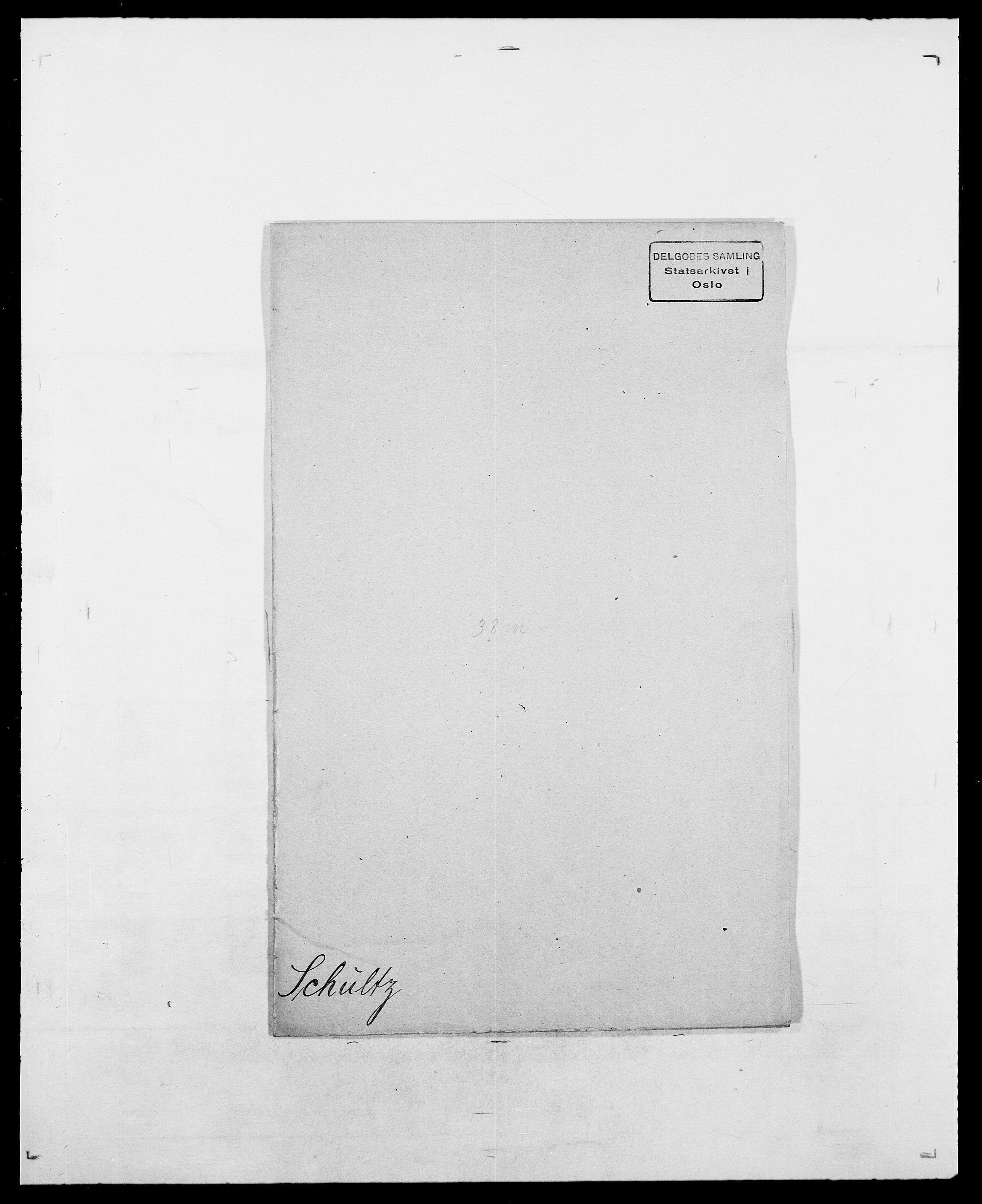 SAO, Delgobe, Charles Antoine - samling, D/Da/L0035: Schnabel - sjetman, s. 279