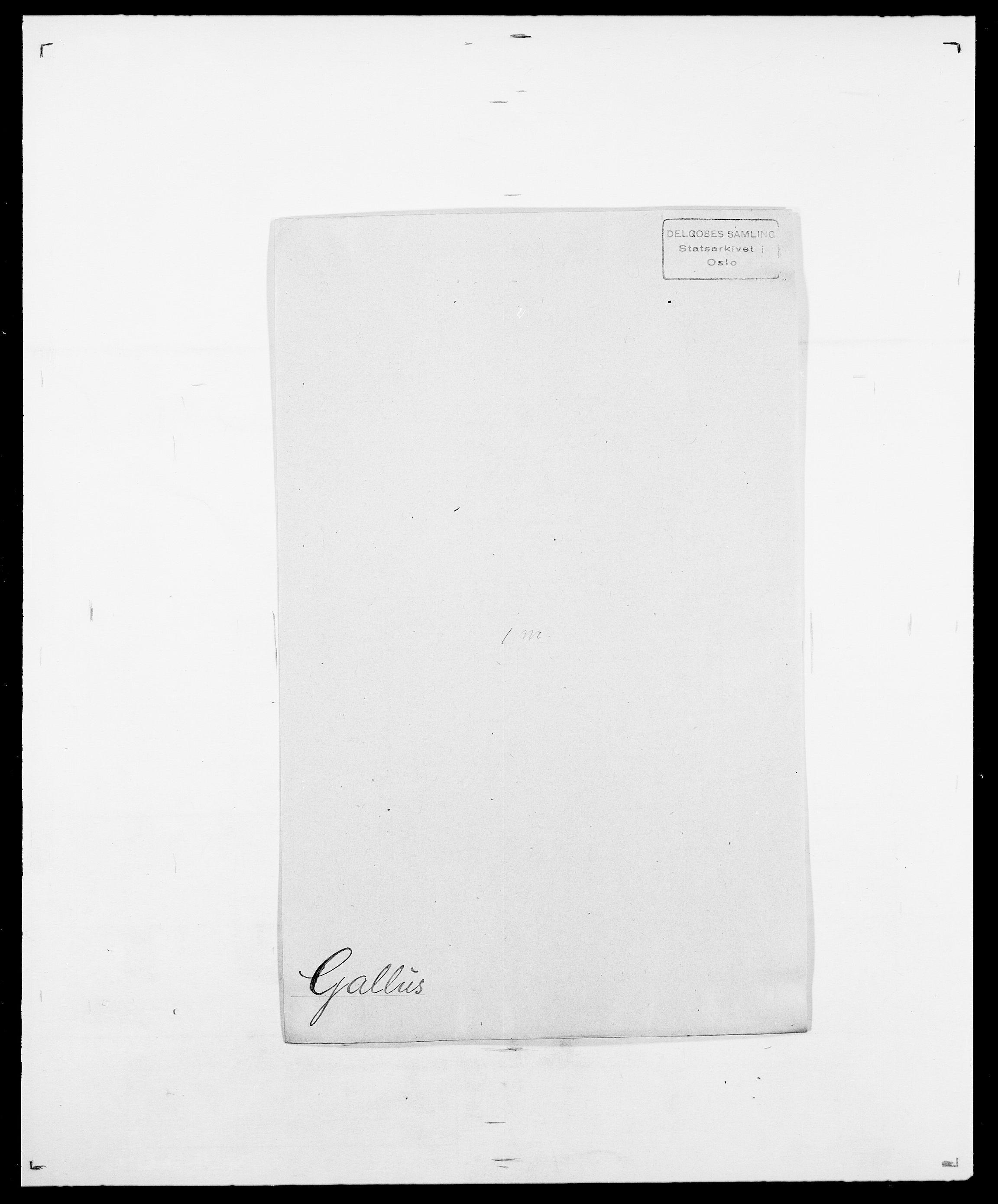 SAO, Delgobe, Charles Antoine - samling, D/Da/L0013: Forbos - Geving, s. 408