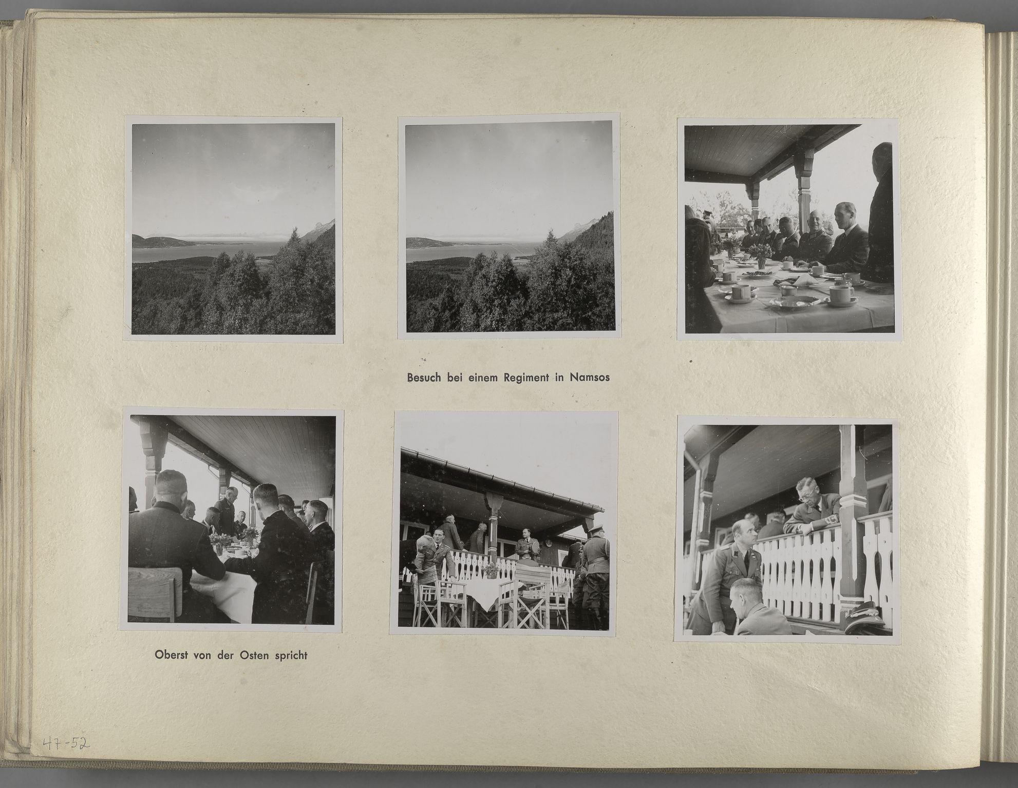 RA, Tyske arkiver, Reichskommissariat, Bildarchiv, U/L0071: Fotoalbum: Mit dem Reichskommissar nach Nordnorwegen und Finnland 10. bis 27. Juli 1942, 1942, s. 22