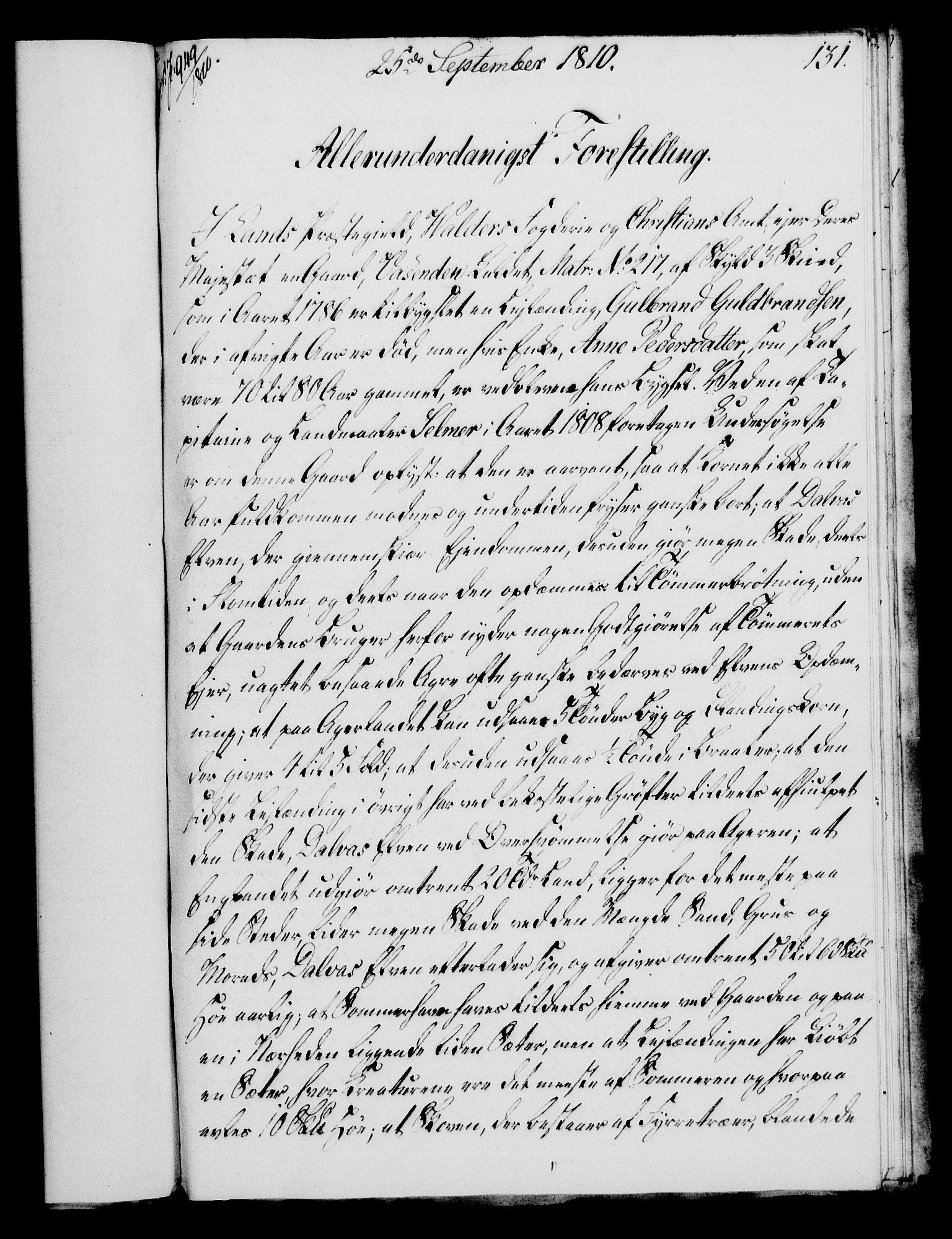 RA, Rentekammeret, Kammerkanselliet, G/Gf/Gfa/L0092: Norsk relasjons- og resolusjonsprotokoll (merket RK 52.92), 1810, s. 504