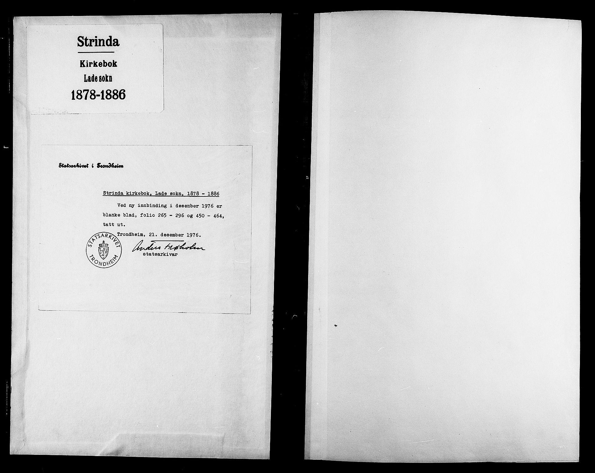 SAT, Ministerialprotokoller, klokkerbøker og fødselsregistre - Sør-Trøndelag, 606/L0294: Ministerialbok nr. 606A09, 1878-1886