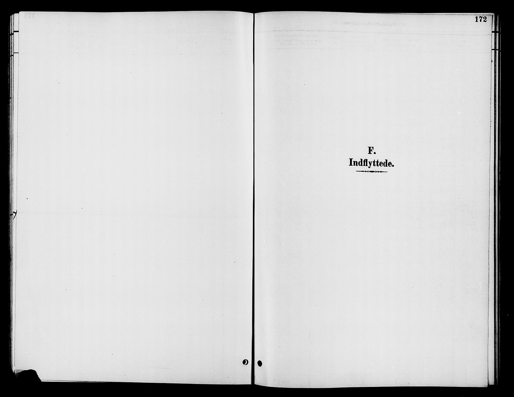SAH, Vardal prestekontor, H/Ha/Hab/L0009: Klokkerbok nr. 9, 1894-1902, s. 172