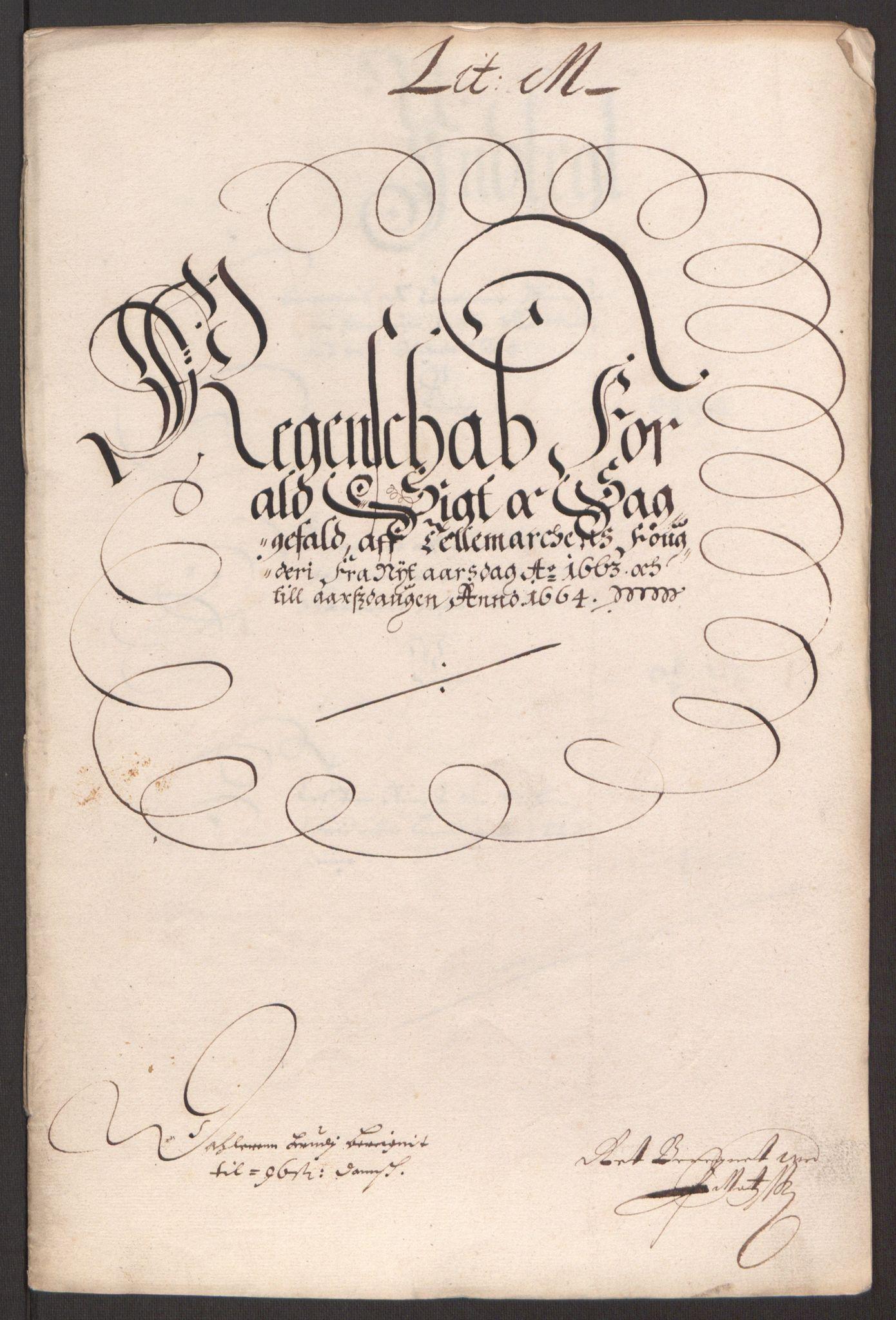 RA, Rentekammeret inntil 1814, Reviderte regnskaper, Fogderegnskap, R35/L2054: Fogderegnskap Øvre og Nedre Telemark, 1662-1663, s. 367