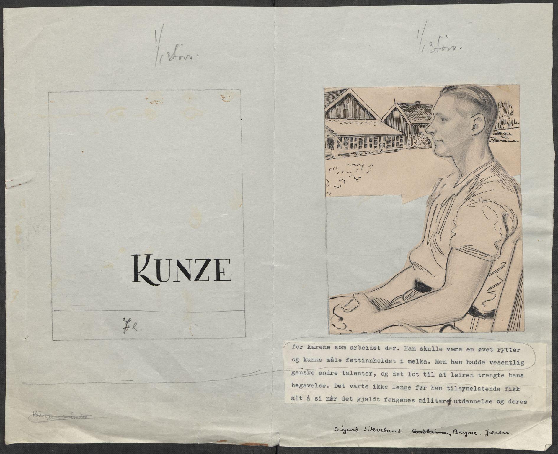 RA, Grøgaard, Joachim, F/L0002: Tegninger og tekster, 1942-1945, s. 104