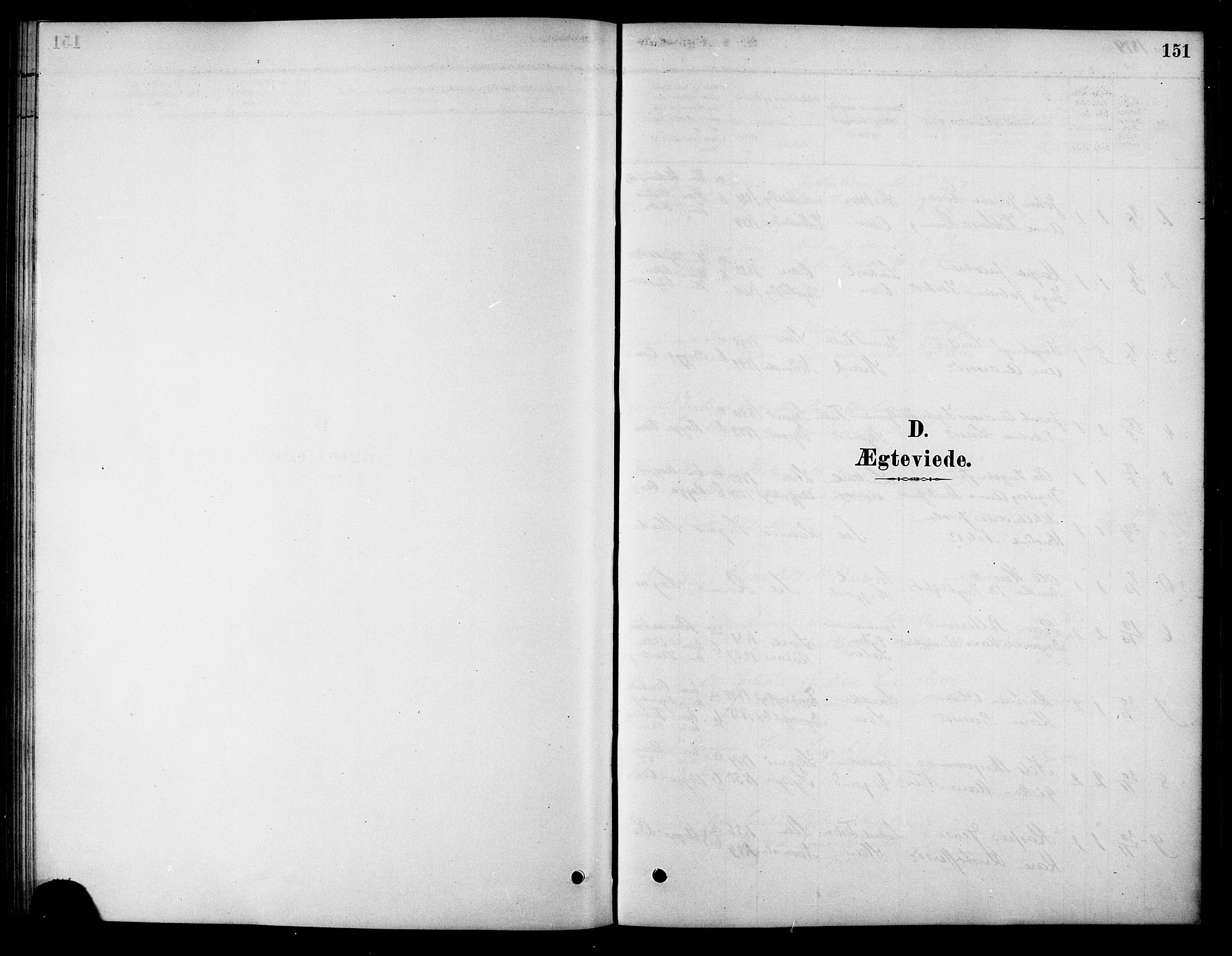 SAT, Ministerialprotokoller, klokkerbøker og fødselsregistre - Sør-Trøndelag, 658/L0722: Ministerialbok nr. 658A01, 1879-1896, s. 151