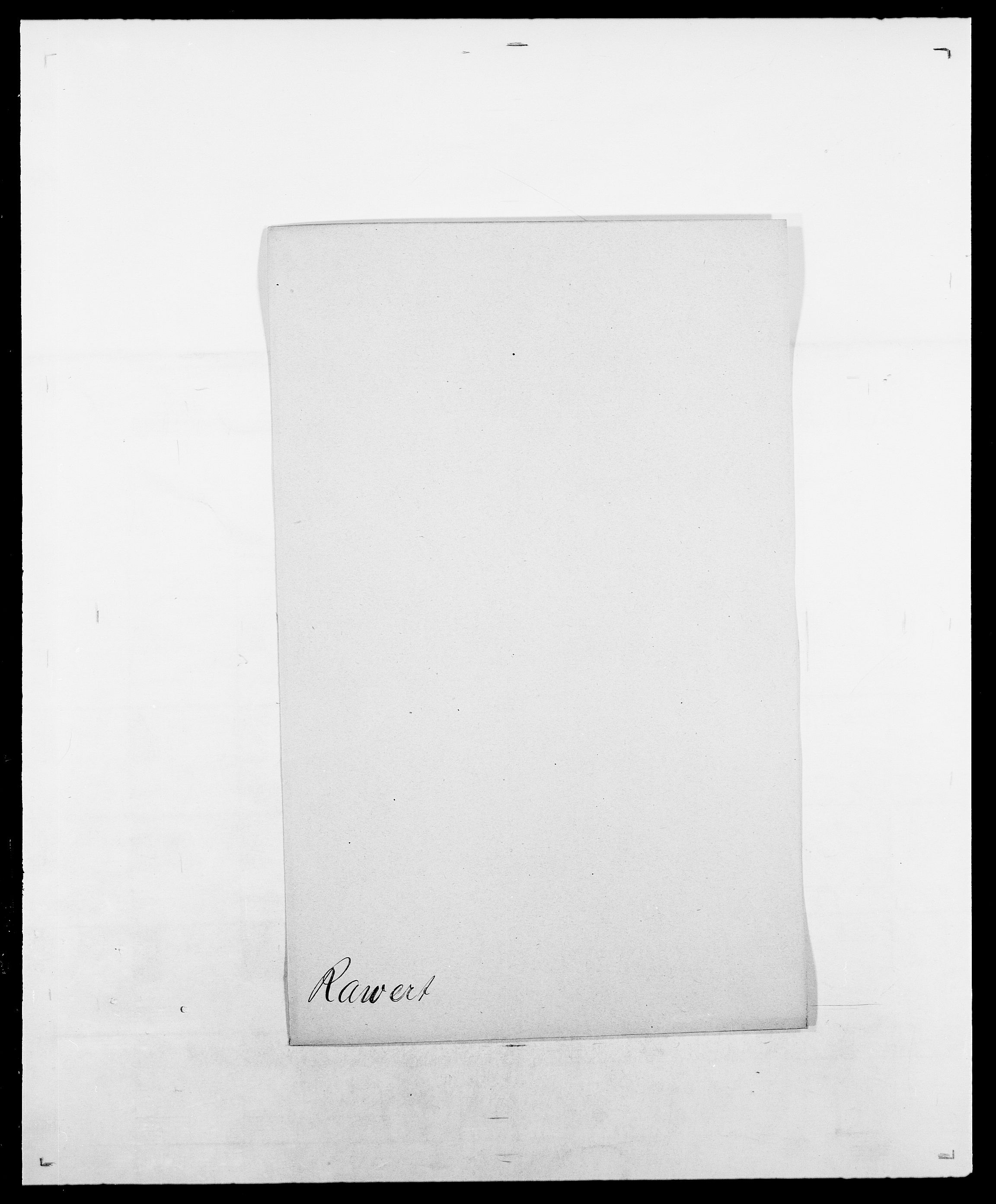 SAO, Delgobe, Charles Antoine - samling, D/Da/L0032: Rabakovsky - Rivertz, s. 226