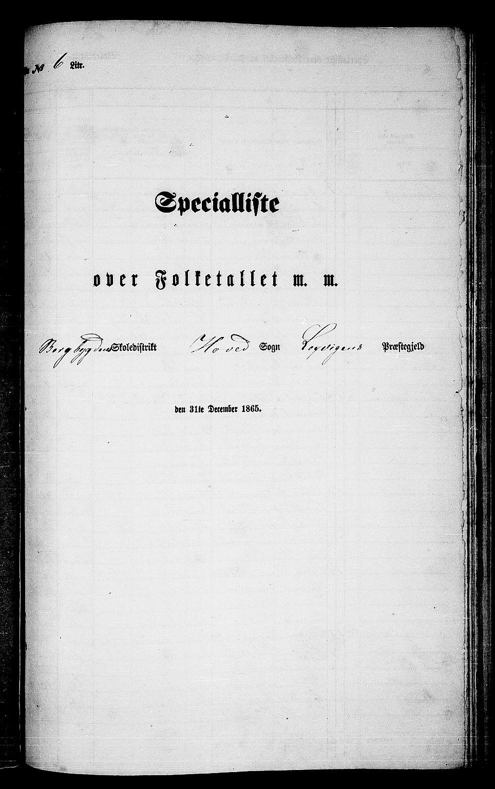 RA, Folketelling 1865 for 1718P Leksvik prestegjeld, 1865, s. 119