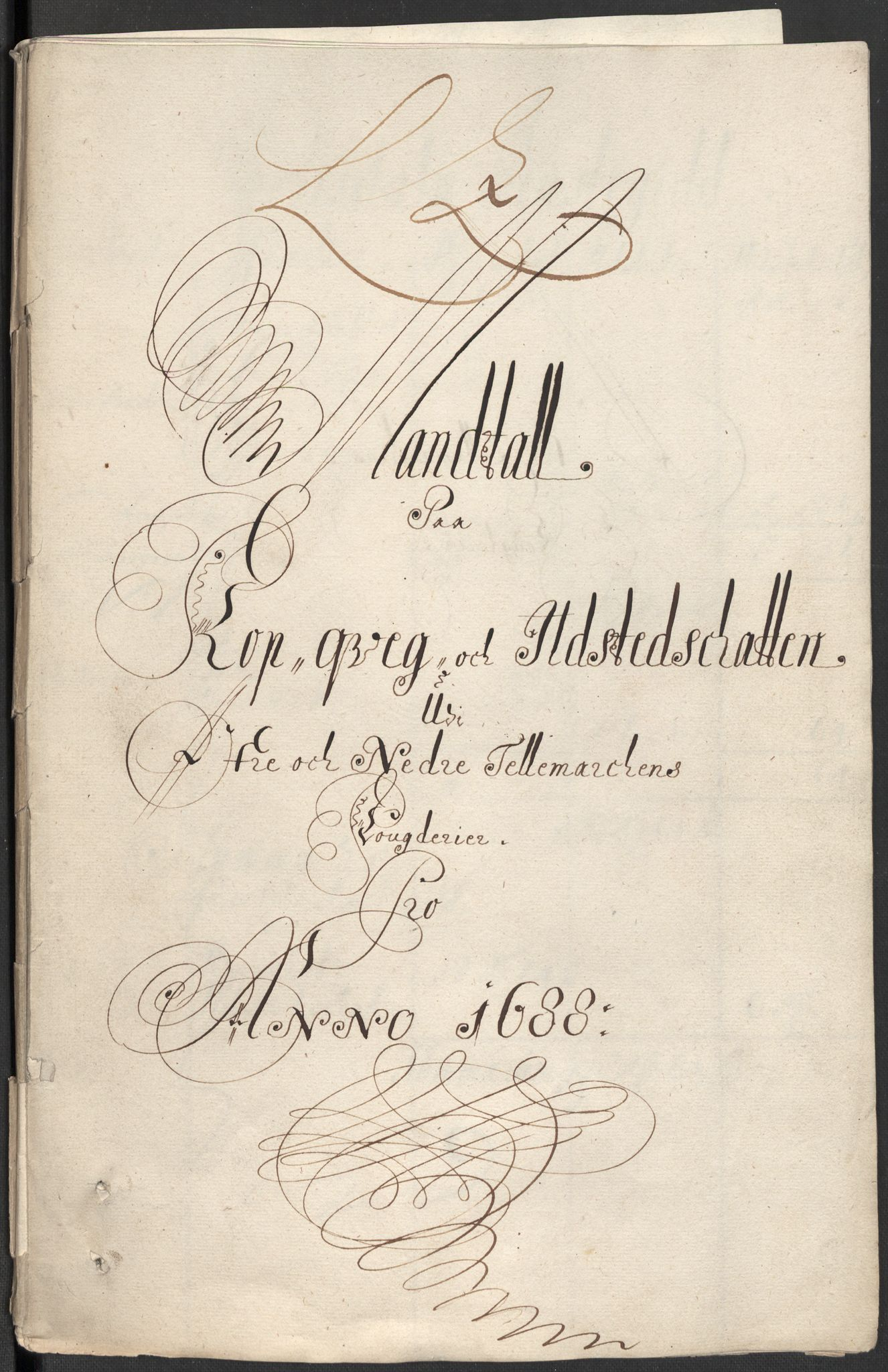 RA, Rentekammeret inntil 1814, Reviderte regnskaper, Fogderegnskap, R35/L2087: Fogderegnskap Øvre og Nedre Telemark, 1687-1689, s. 368