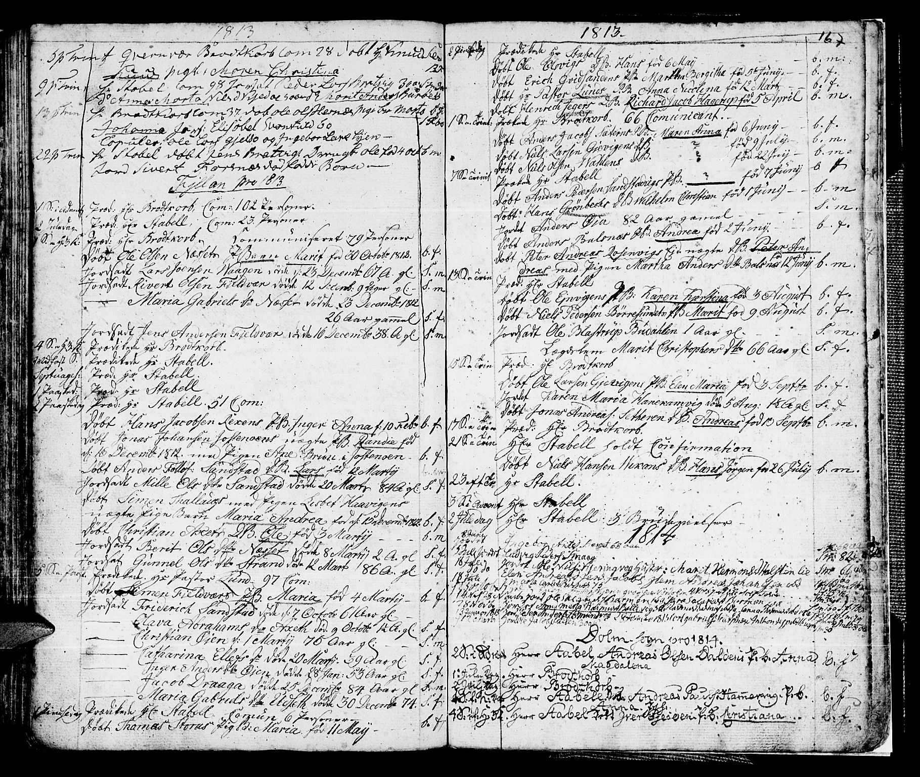 SAT, Ministerialprotokoller, klokkerbøker og fødselsregistre - Sør-Trøndelag, 634/L0526: Ministerialbok nr. 634A02, 1775-1818, s. 167