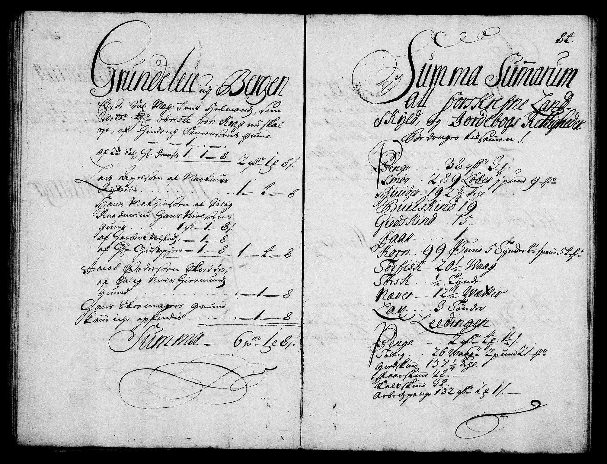 RA, Rentekammeret inntil 1814, Realistisk ordnet avdeling, On/L0003: [Jj 4]: Kommisjonsforretning over Vilhelm Hanssøns forpaktning av Halsnøy klosters gods, 1712-1722, s. 83b-84a