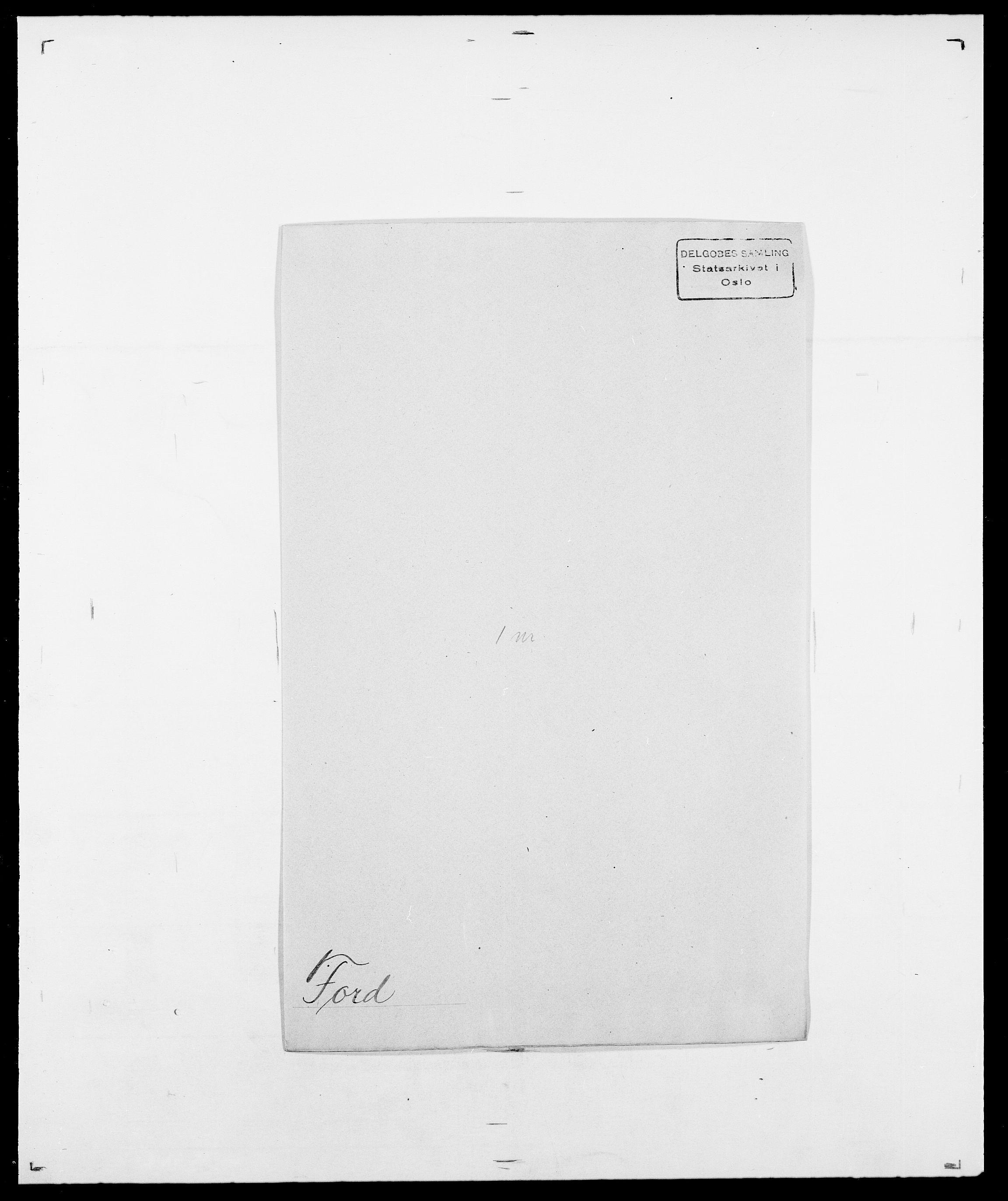 SAO, Delgobe, Charles Antoine - samling, D/Da/L0012: Flor, Floer, Flohr - Fritzner, s. 591