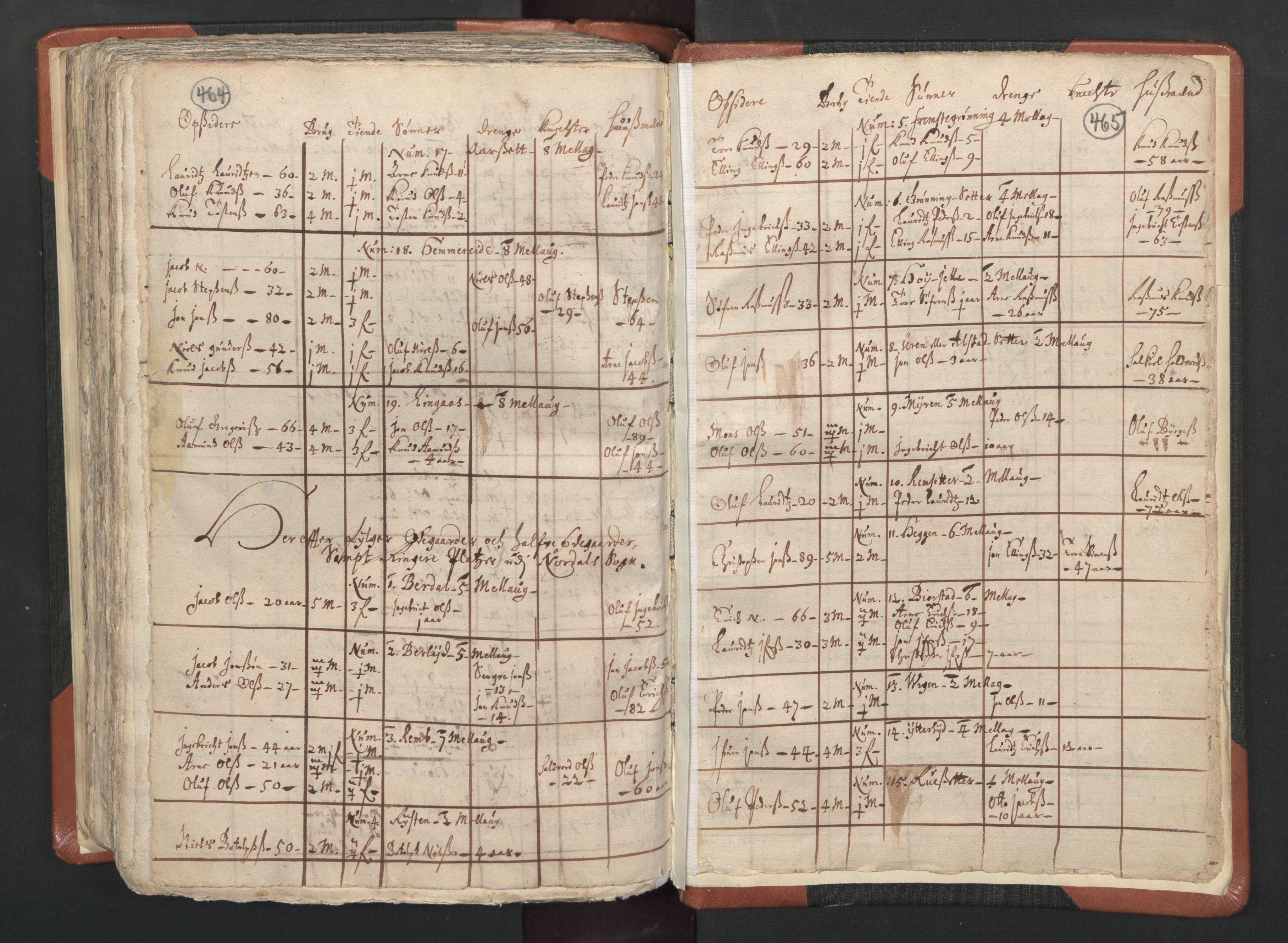 RA, Sogneprestenes manntall 1664-1666, nr. 26: Sunnmøre prosti, 1664-1666, s. 464-465