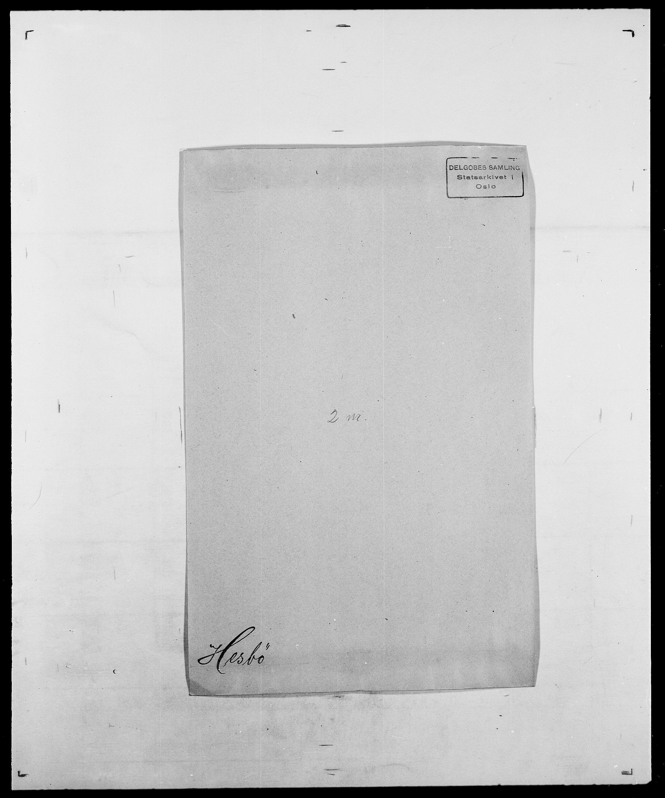 SAO, Delgobe, Charles Antoine - samling, D/Da/L0017: Helander - Hjørne, s. 298