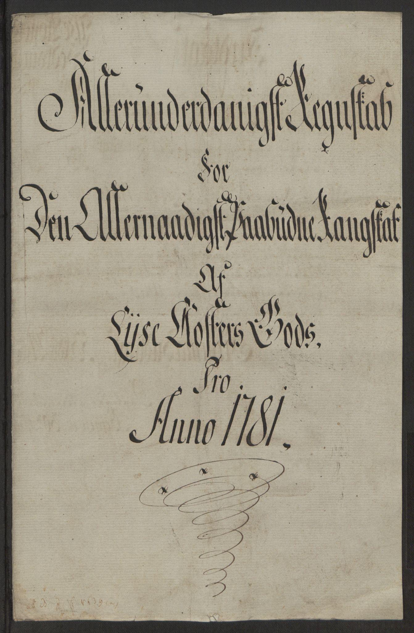 RA, Rentekammeret inntil 1814, Reviderte regnskaper, Fogderegnskap, R50/L3180: Ekstraskatten Lyse kloster, 1762-1783, s. 418