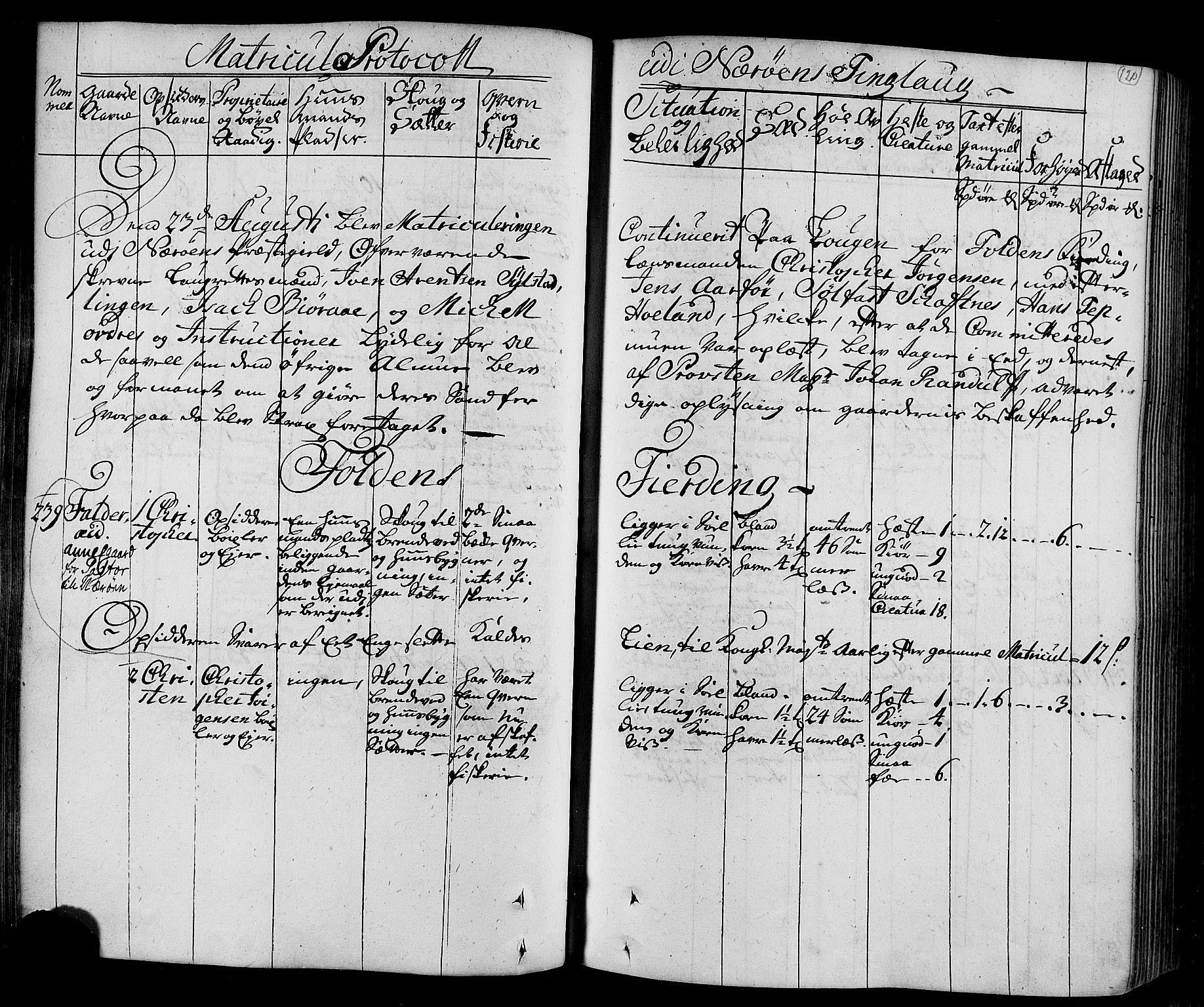 RA, Rentekammeret inntil 1814, Realistisk ordnet avdeling, N/Nb/Nbf/L0168: Namdalen eksaminasjonsprotokoll, 1723, s. 119b-120a