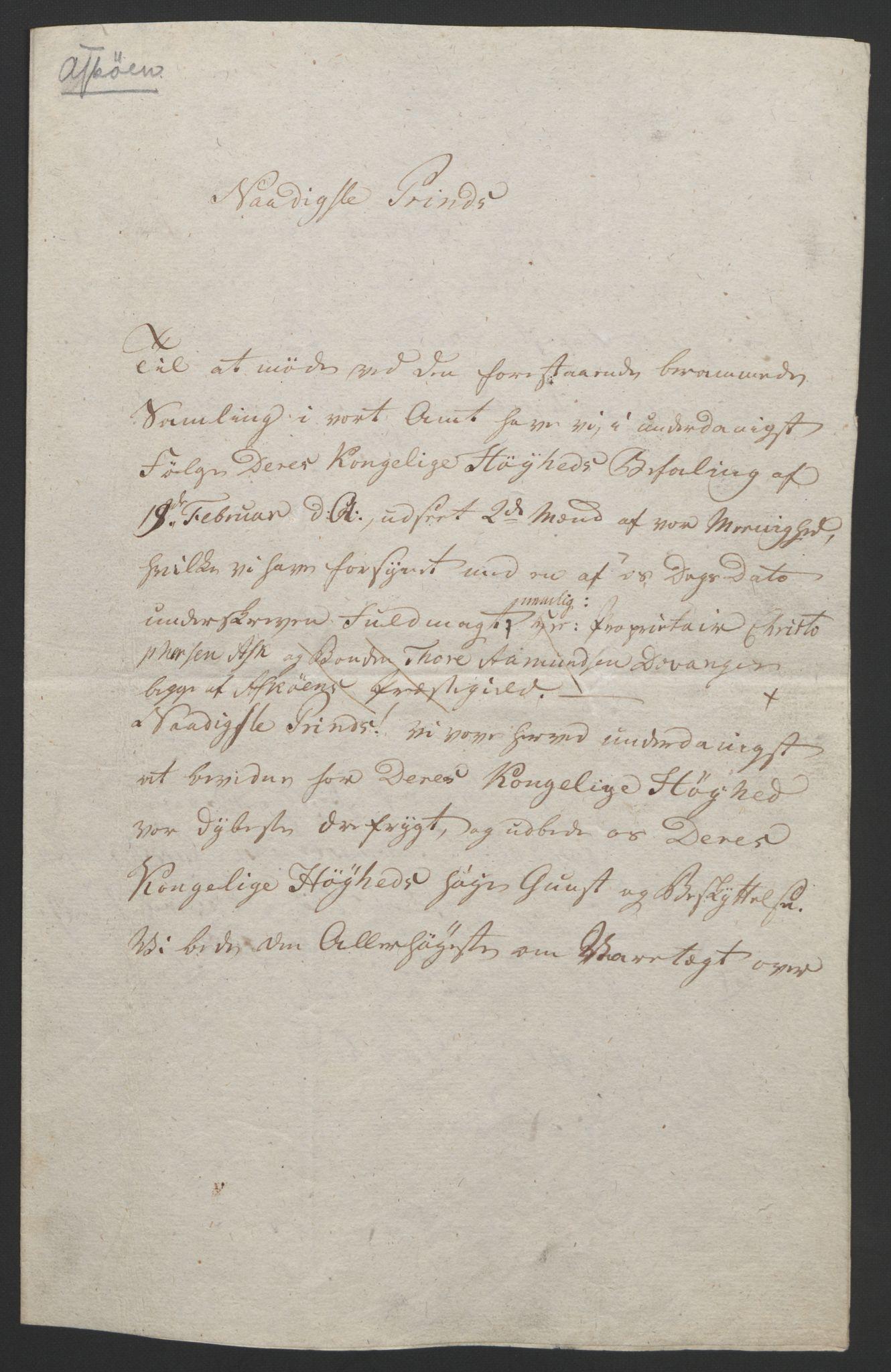 RA, Statsrådssekretariatet, D/Db/L0008: Fullmakter for Eidsvollsrepresentantene i 1814. , 1814, s. 266