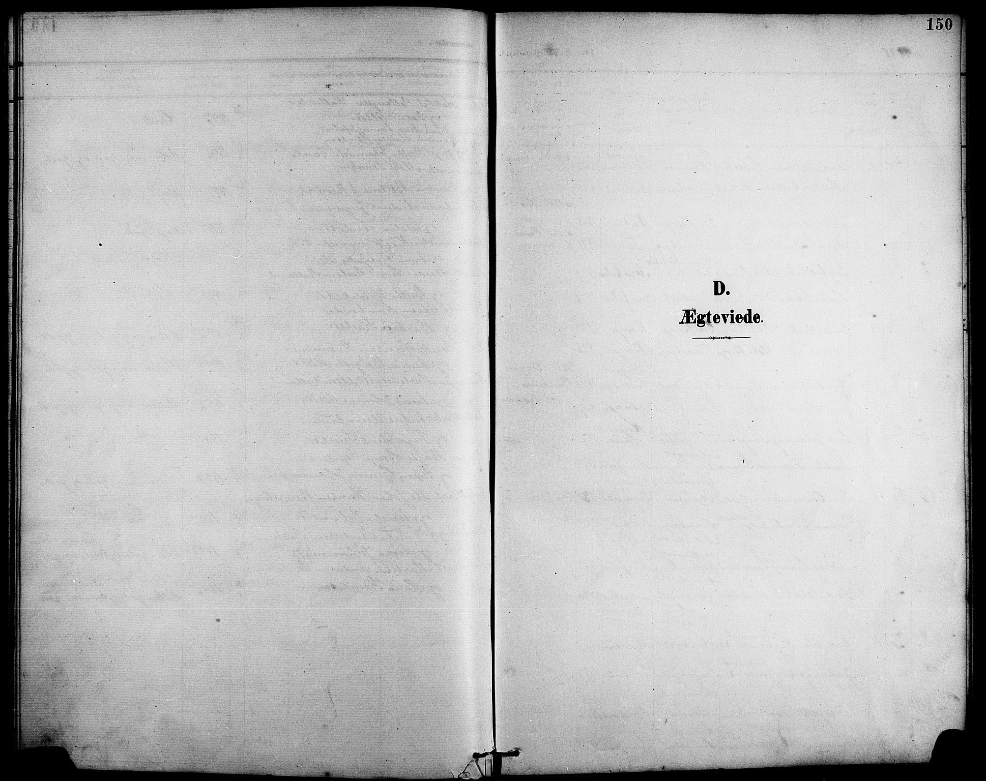 SAB, Arna Sokneprestembete, H/Ha/Hab: Klokkerbok nr. A 4, 1898-1910, s. 150