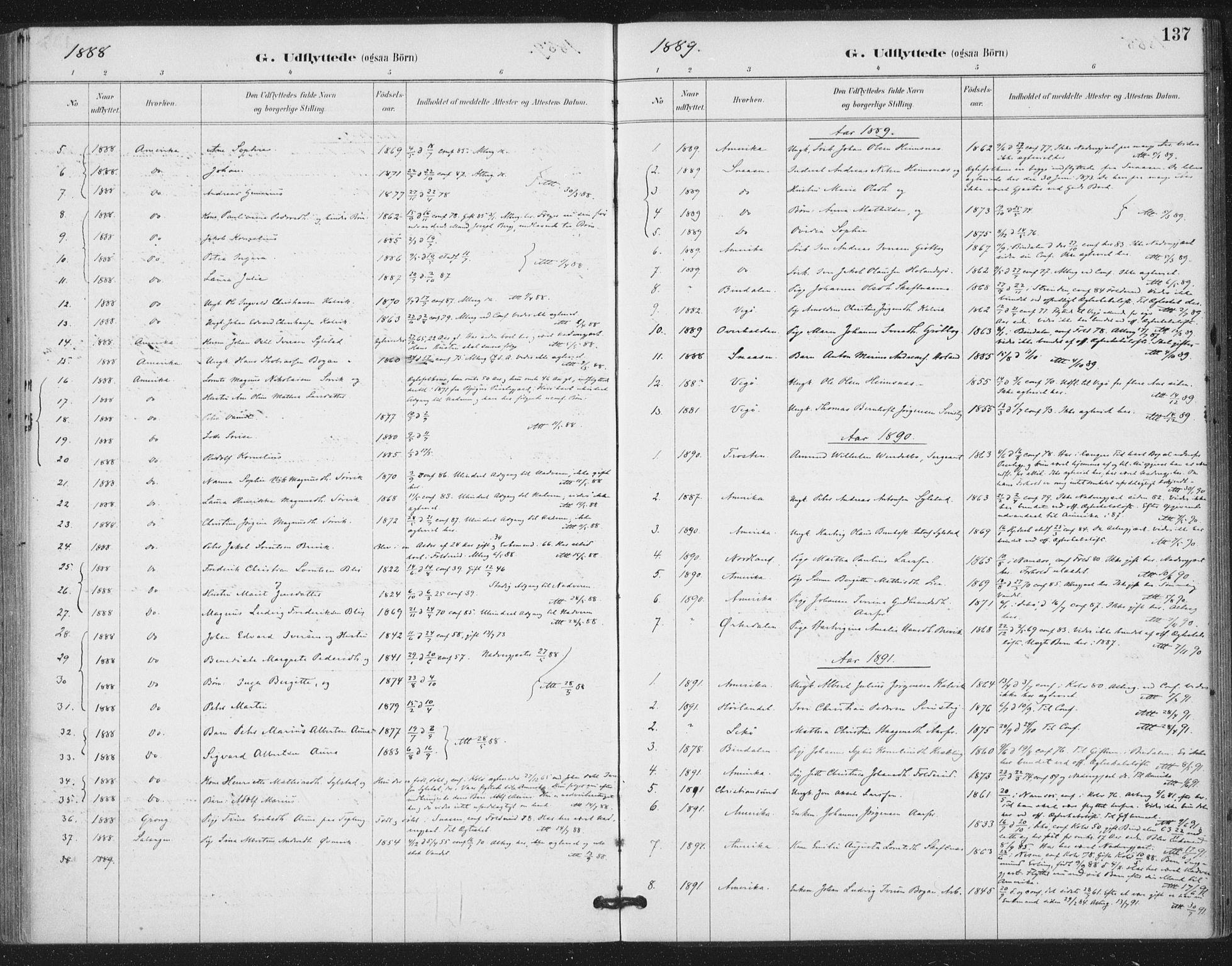 SAT, Ministerialprotokoller, klokkerbøker og fødselsregistre - Nord-Trøndelag, 783/L0660: Ministerialbok nr. 783A02, 1886-1918, s. 137