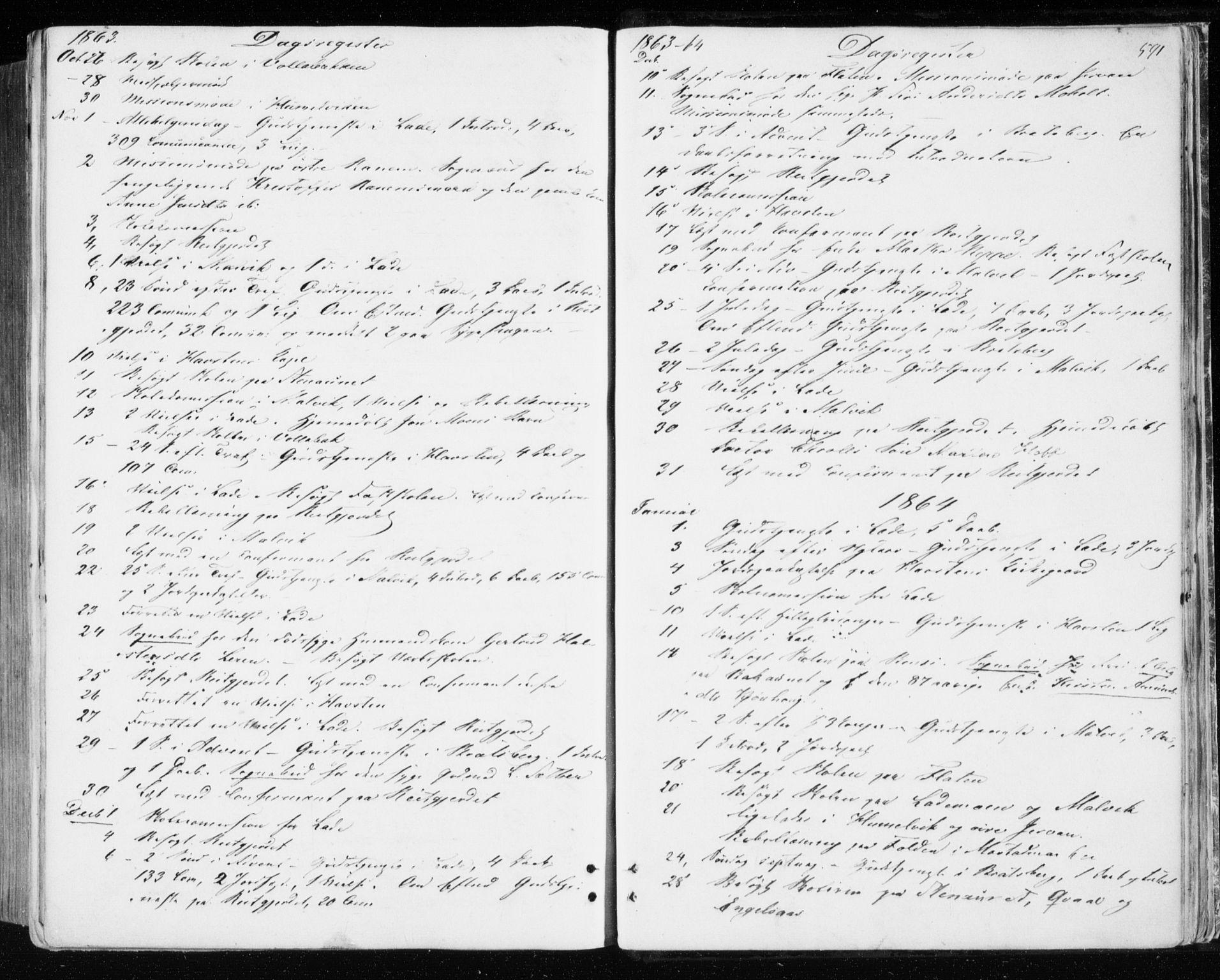 SAT, Ministerialprotokoller, klokkerbøker og fødselsregistre - Sør-Trøndelag, 606/L0292: Ministerialbok nr. 606A07, 1856-1865, s. 591