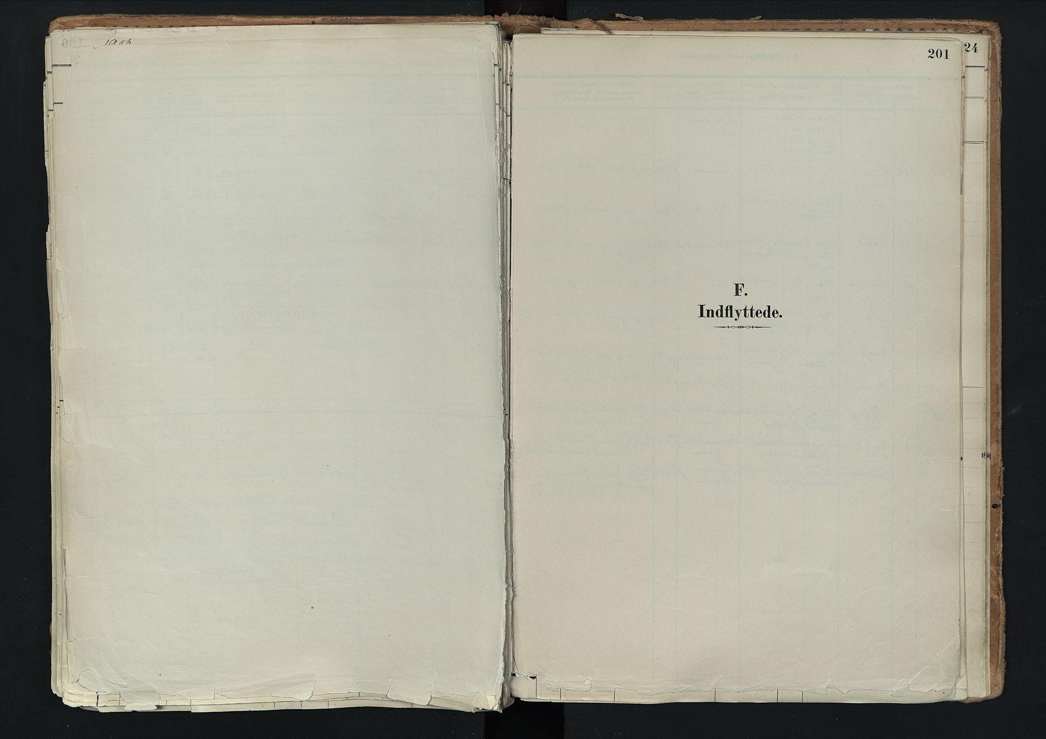 SAH, Nord-Fron prestekontor, Ministerialbok nr. 3, 1884-1914, s. 201
